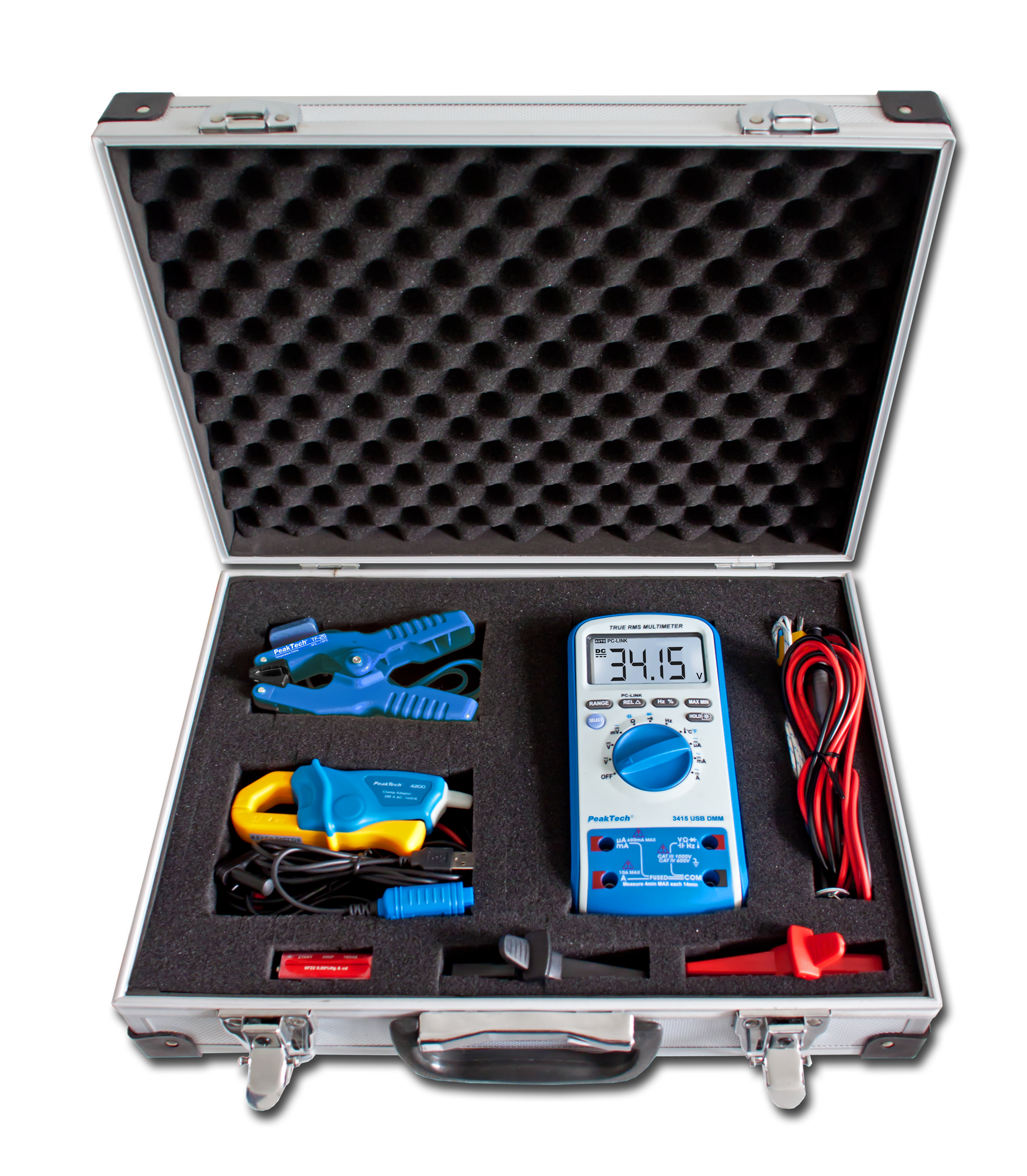 "«PeakTech® P 8100» Measurement Equipment Set ""DMM & Clamp Meter"""