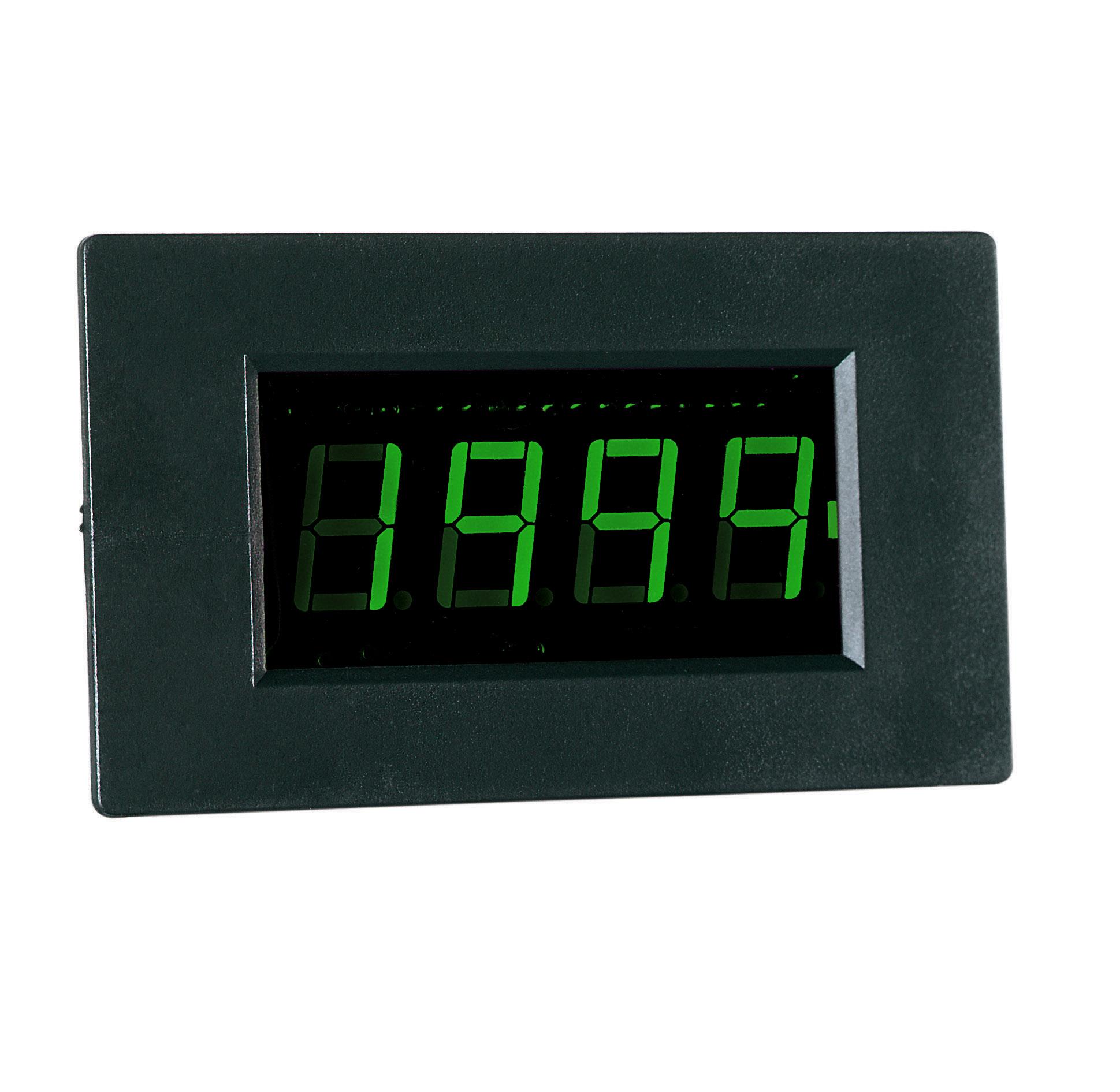 «PeakTech® LDP-240» Volt & ammeter, LCD display 14mm hight of digits