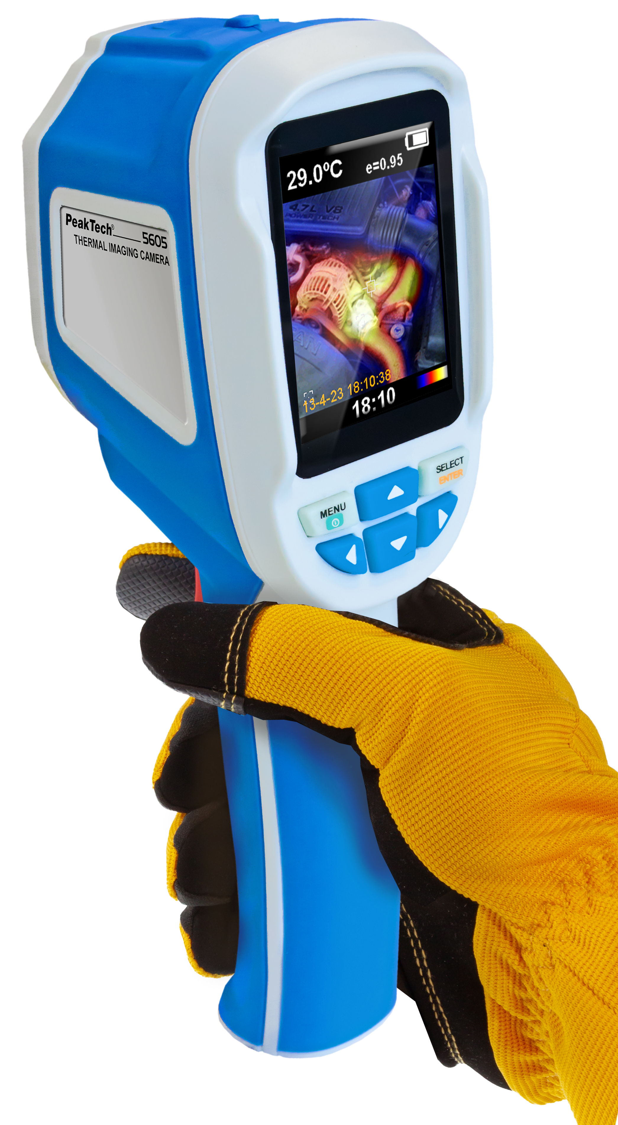 «PeakTech® P 5605» Thermal Imaging Camera, 60 x 60 px.