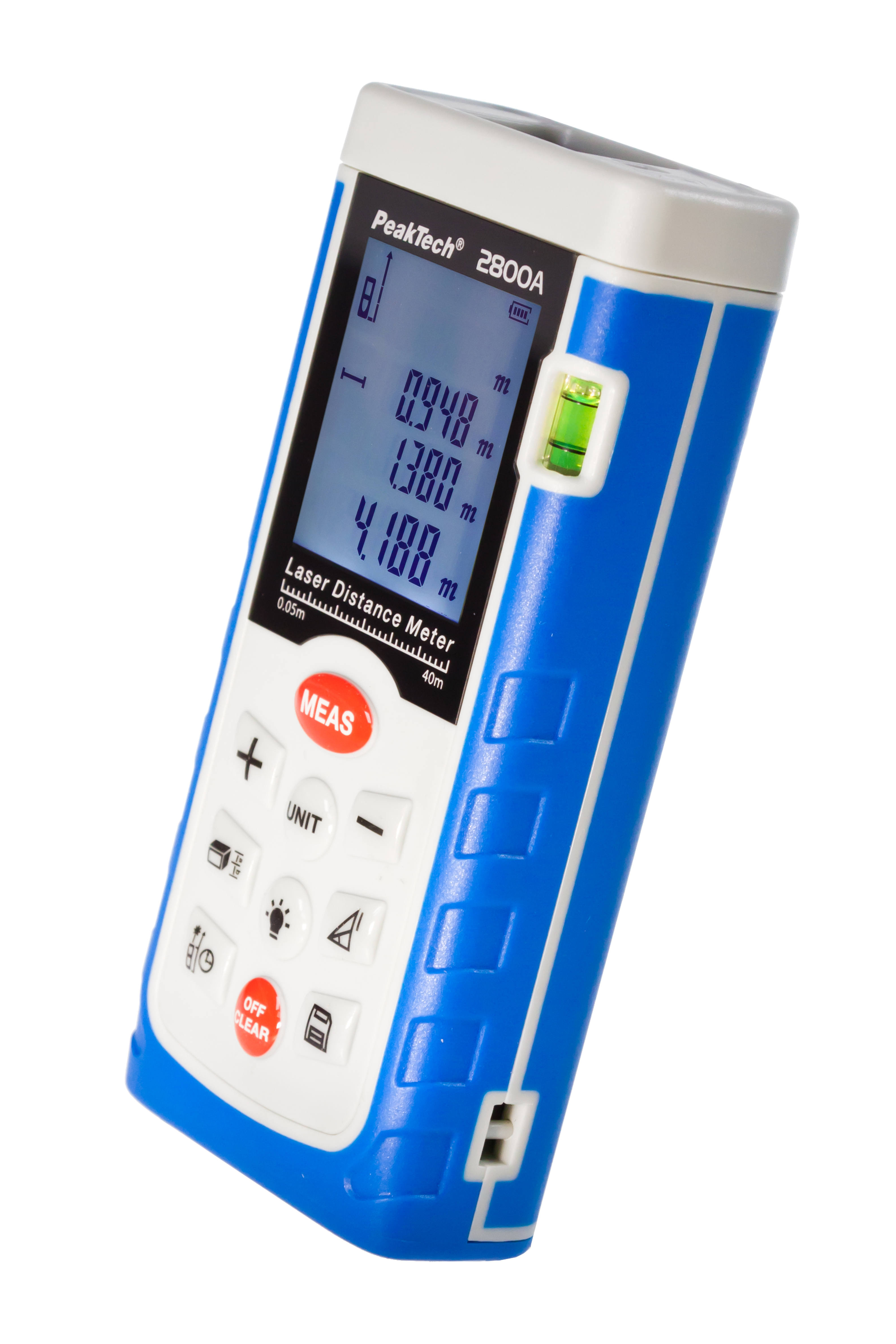 «PeakTech® P 2800 A» Laser distance measuring device up to 40 meters