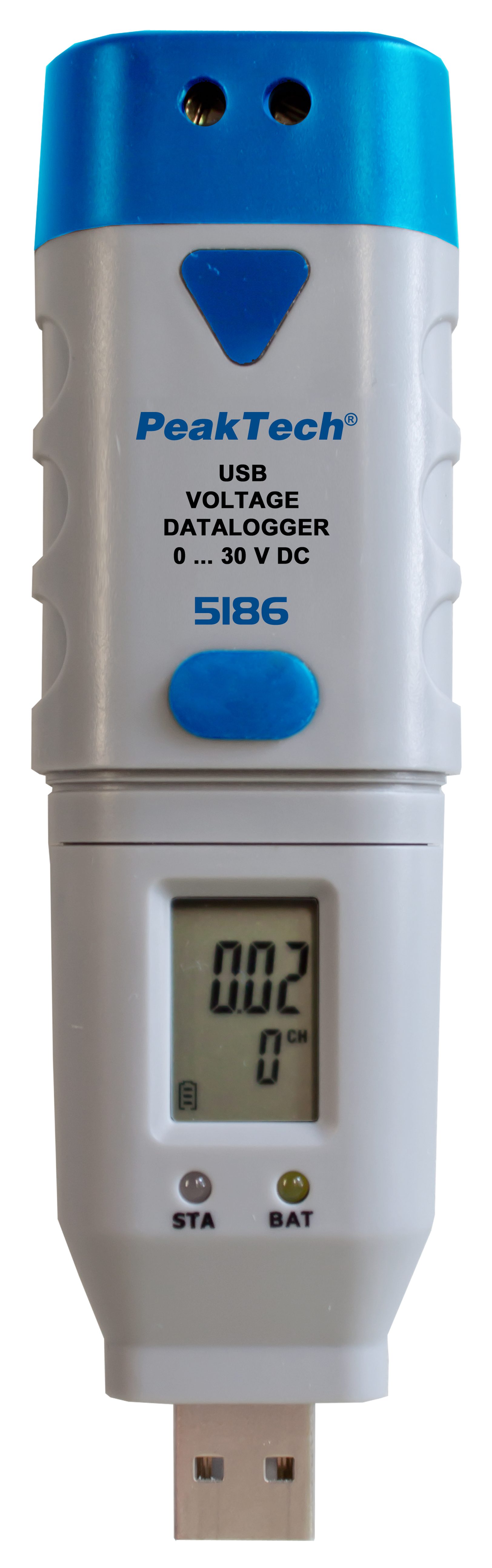 «PeakTech® P 5186» USB-Datalogger Voltage: 0 … 30V DC