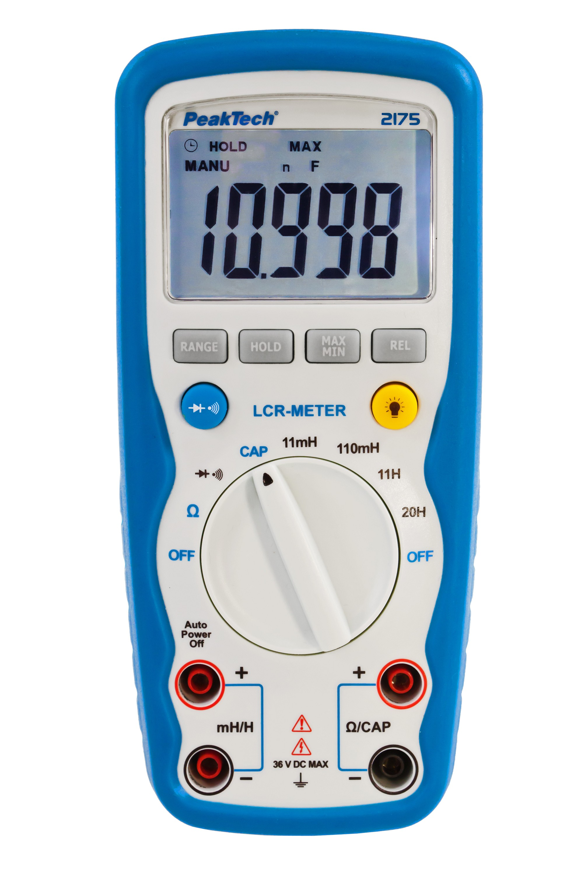 «PeakTech® P 2175» LCR-Meter, 11000 Counts, 20H, 110 mF, 20 MΩ