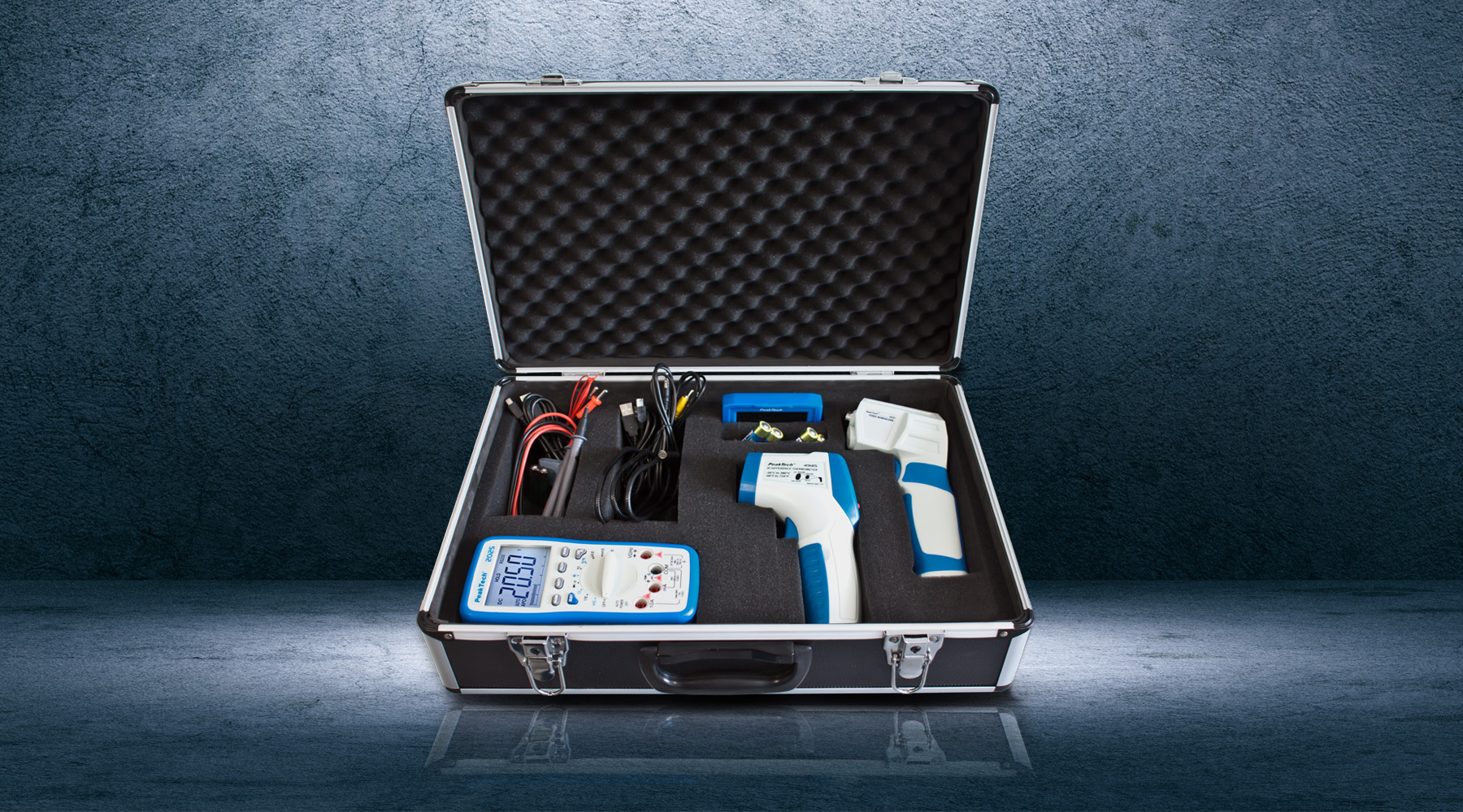 Measuring equipment sets