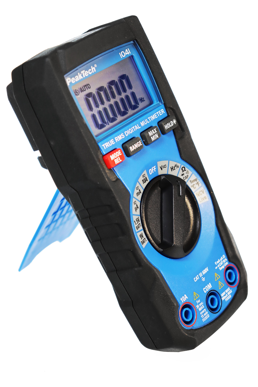 «PeakTech® P 1041» TrueRMS Digital Multimeter 4000 Counts, Auto.Range