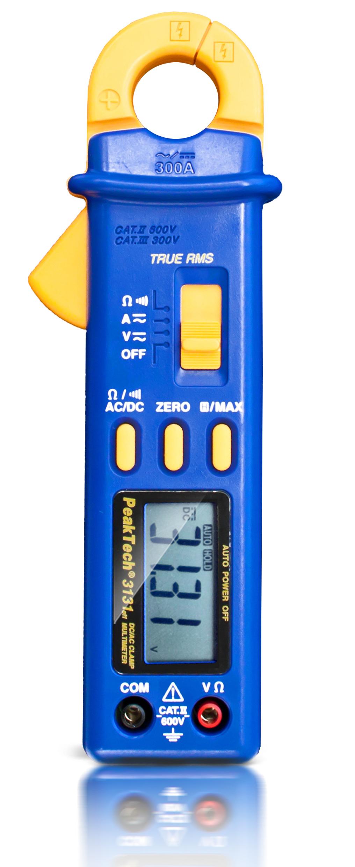 «PeakTech® P 3131» True RMS clamp meter, 4,000 counts