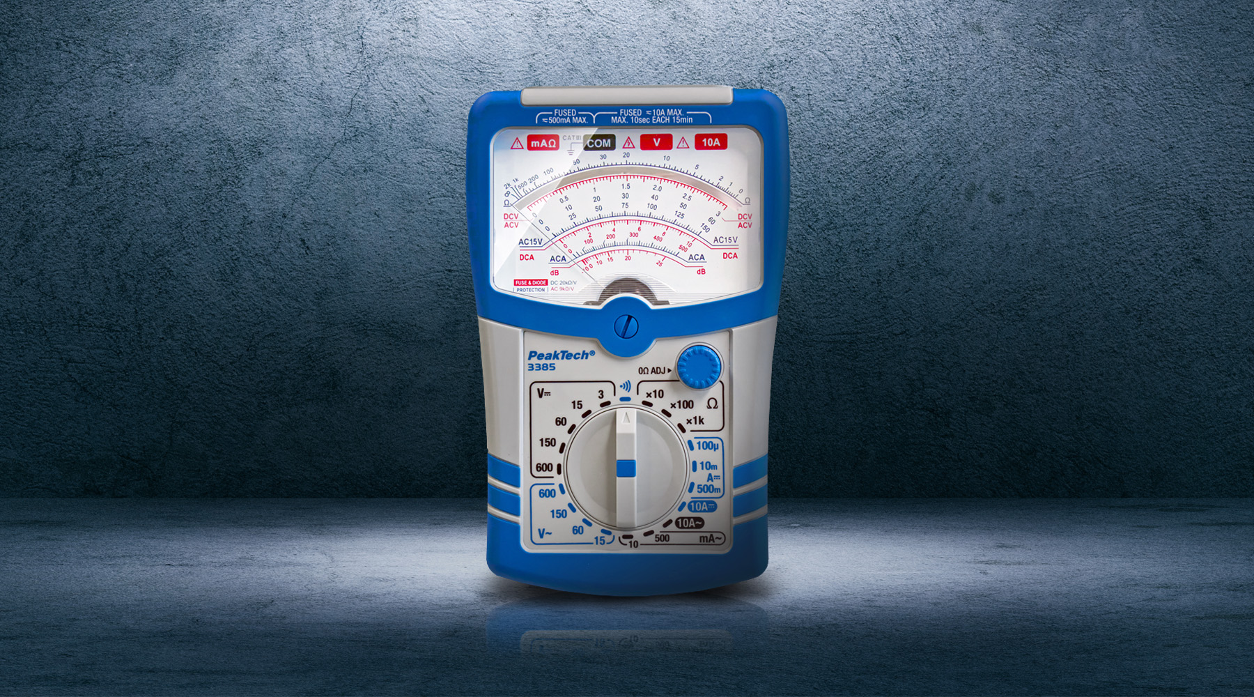 Analog measuring devices