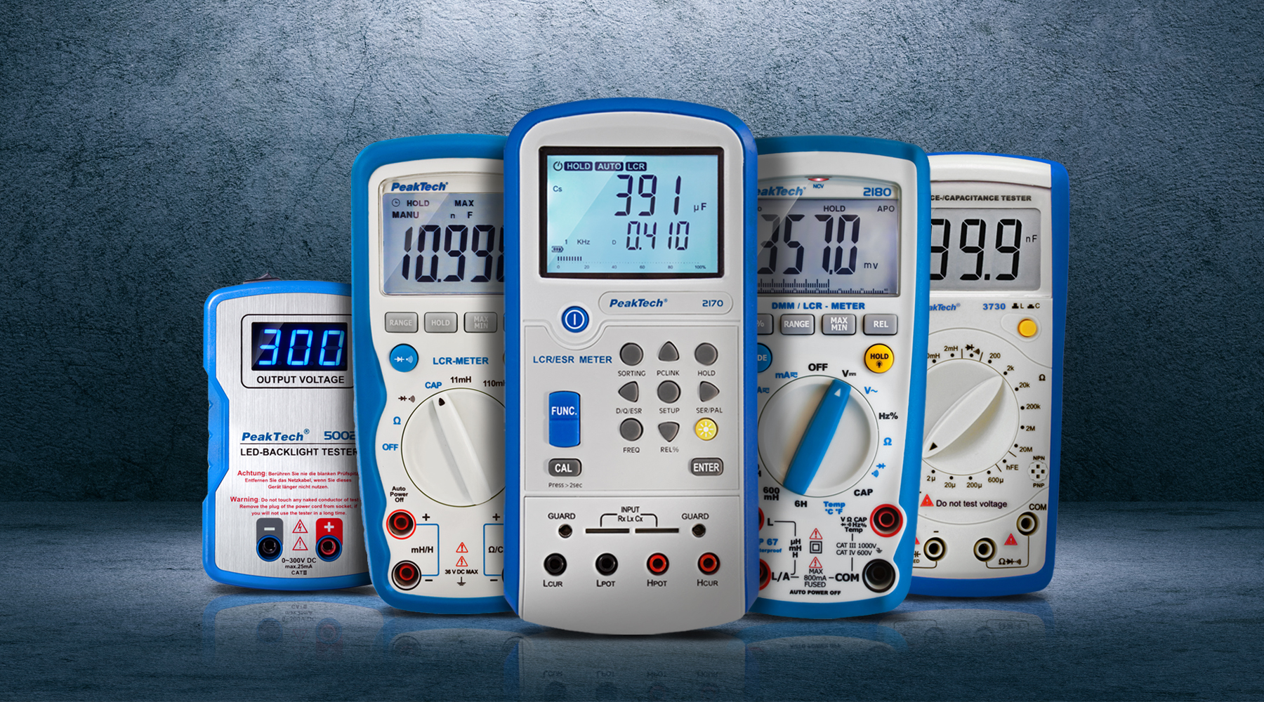 LCR & component tester