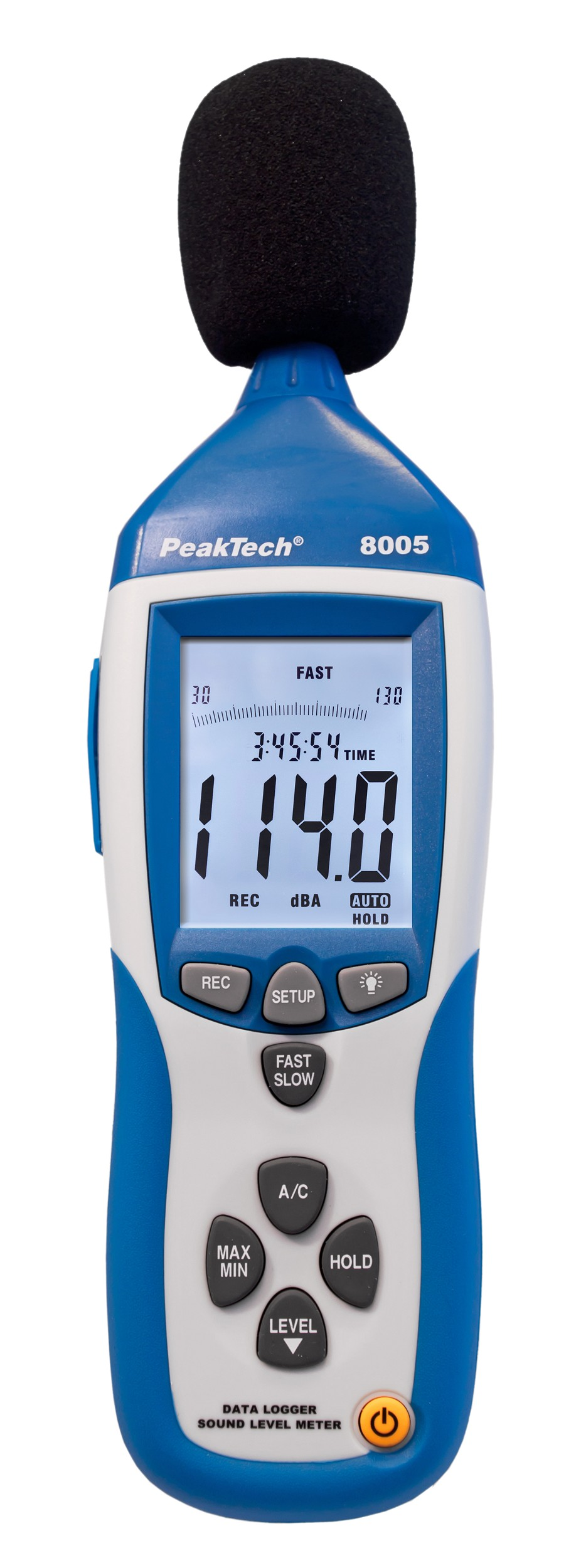 «PeakTech® P 8005» Professional Sound Level Meter with Datalogger