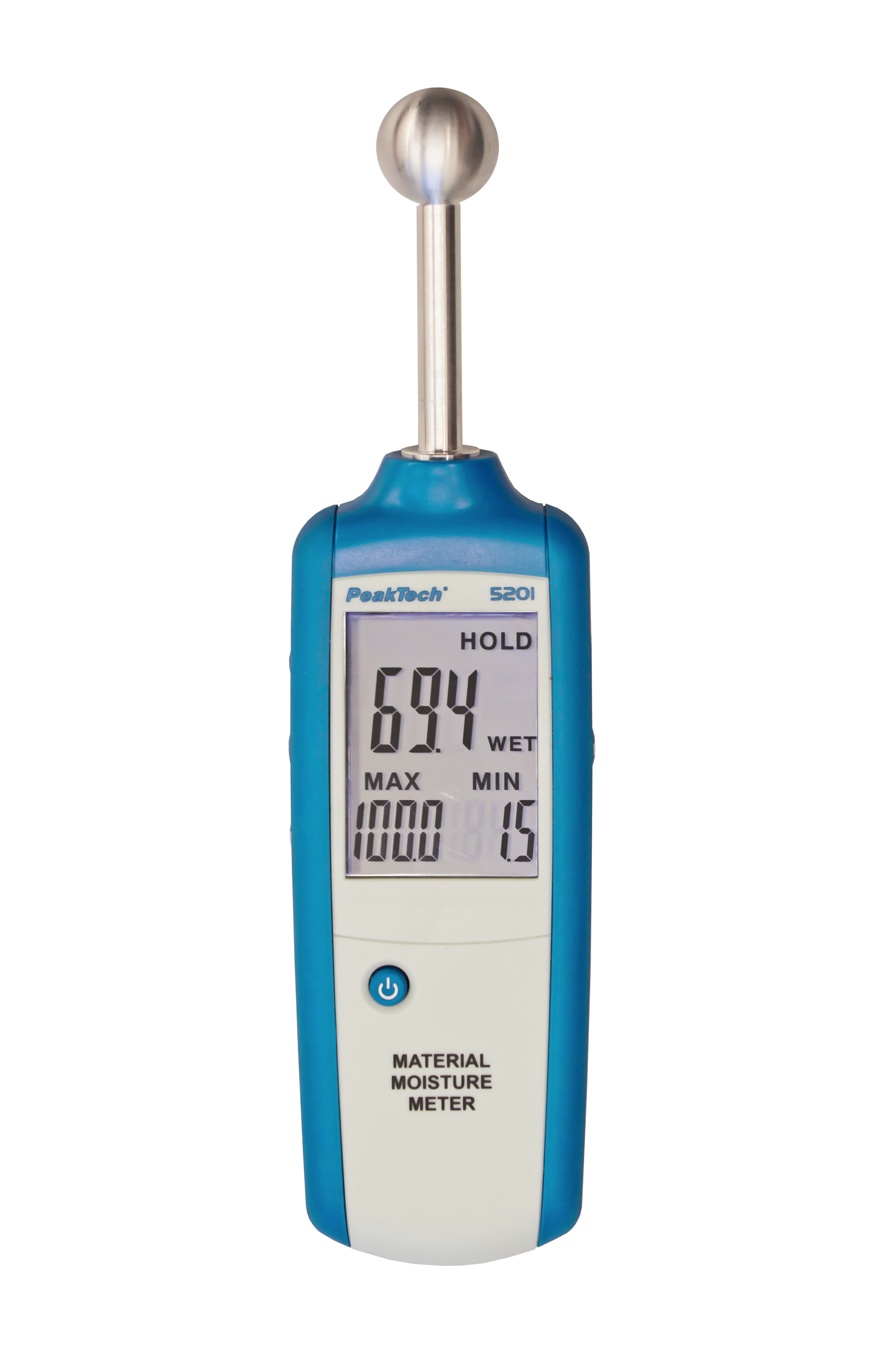 «PeakTech® P 5201» Wood - and Material Moisture Meter