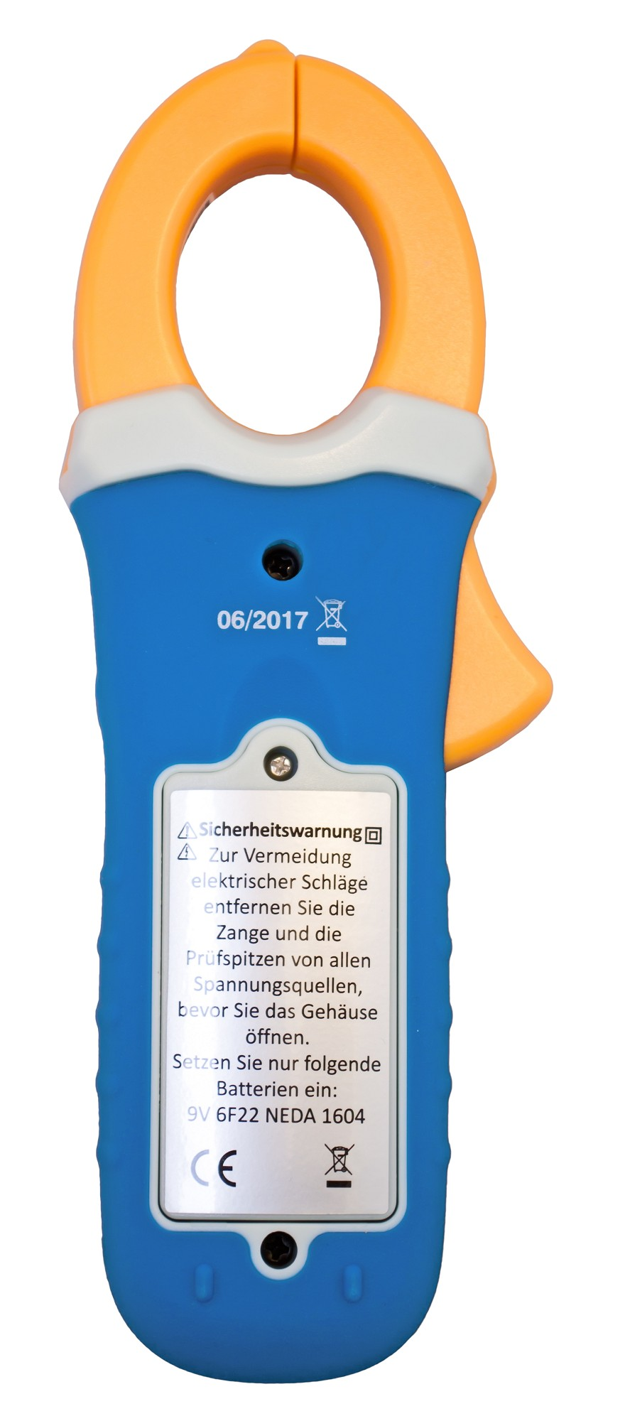 «PeakTech® P 1650» TrueRMS clamp meter 4,000 counts 400 A AC/DC