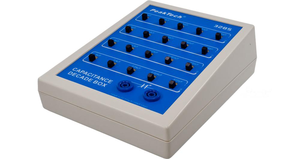 «PeakTech® P 3285» Capacitance decade, 100 pF to 11.111 µF