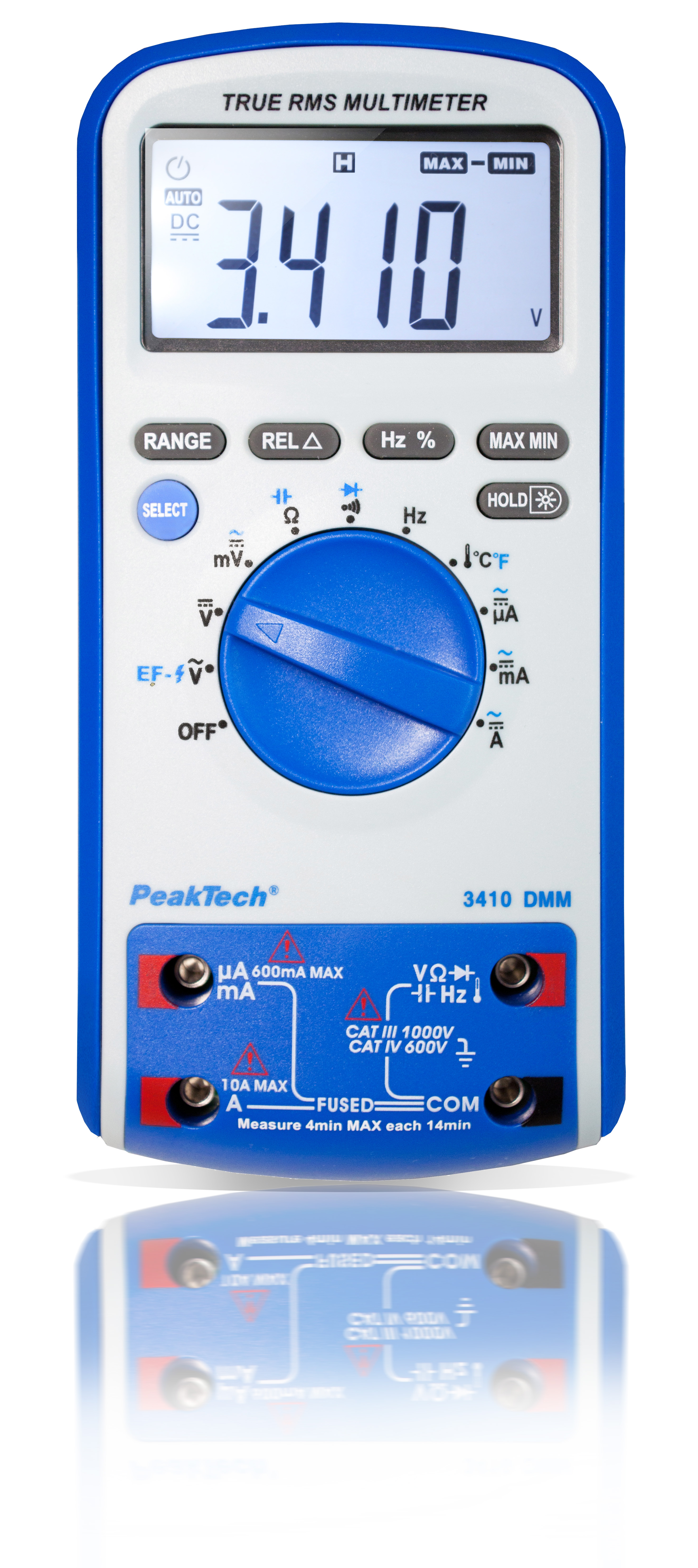 «PeakTech® P 3410» Digital multimeter, 6,000 counts with TrueRMS