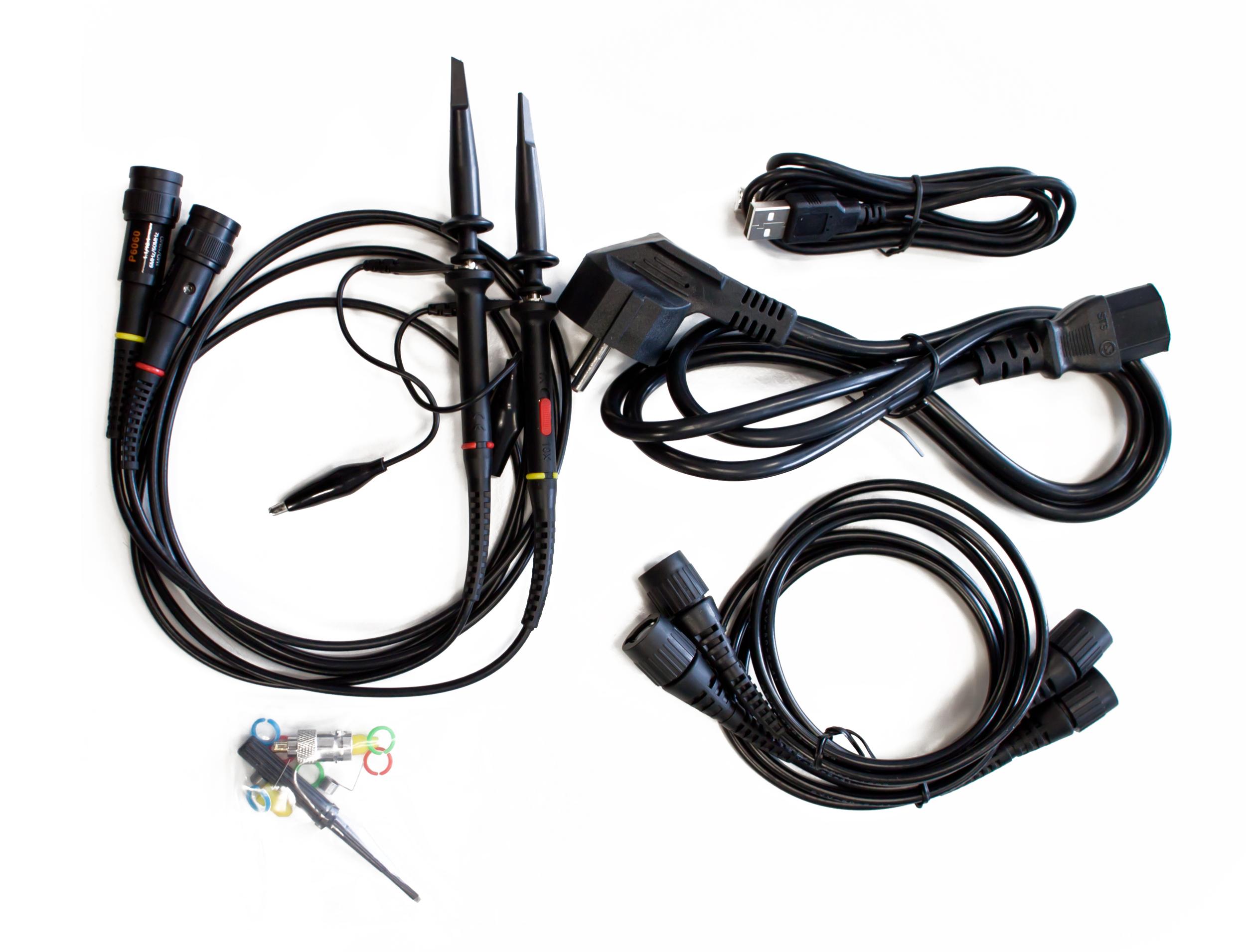«PeakTech® P 1265» 30 MHz/2CH, 250 MS/s, Digital Storage Oscilloscope