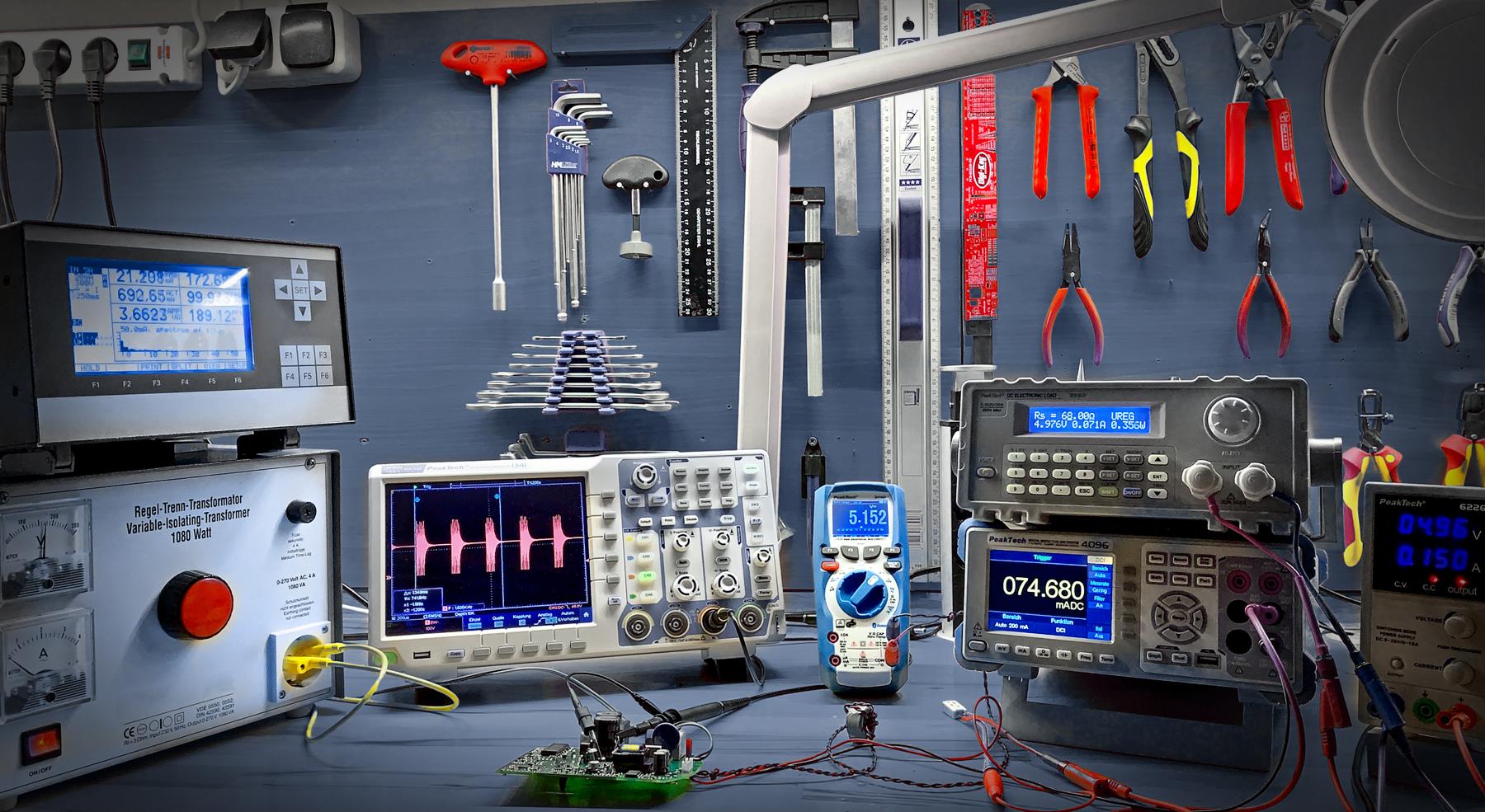 Workshop equipment for electronics