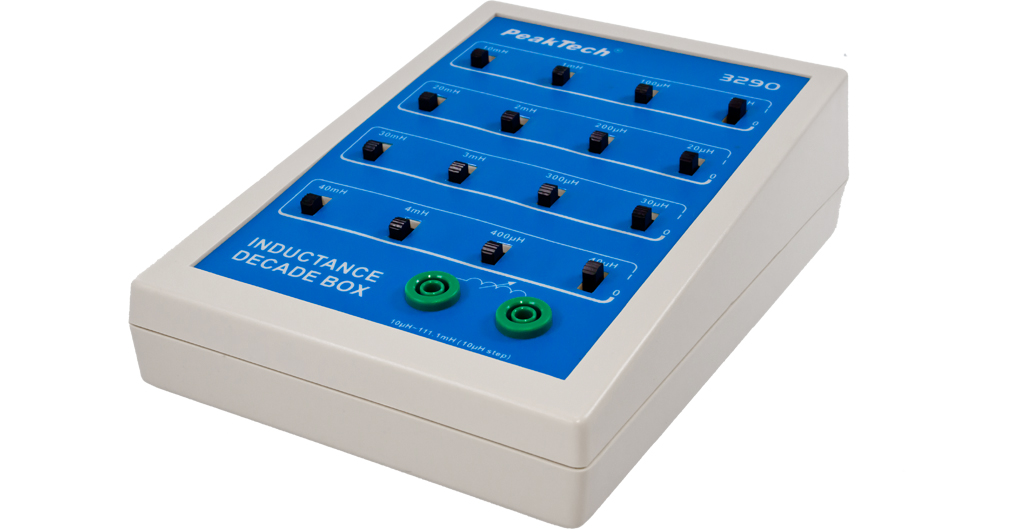 «PeakTech® P 3290» Inductance decade, 10 µH to 111.1 mH