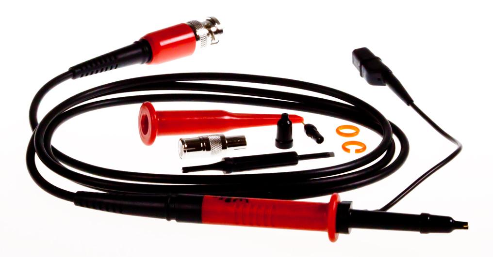 «PeakTech® P TK-250/100» Oscilloscope probe, 250 MHz, 100:1