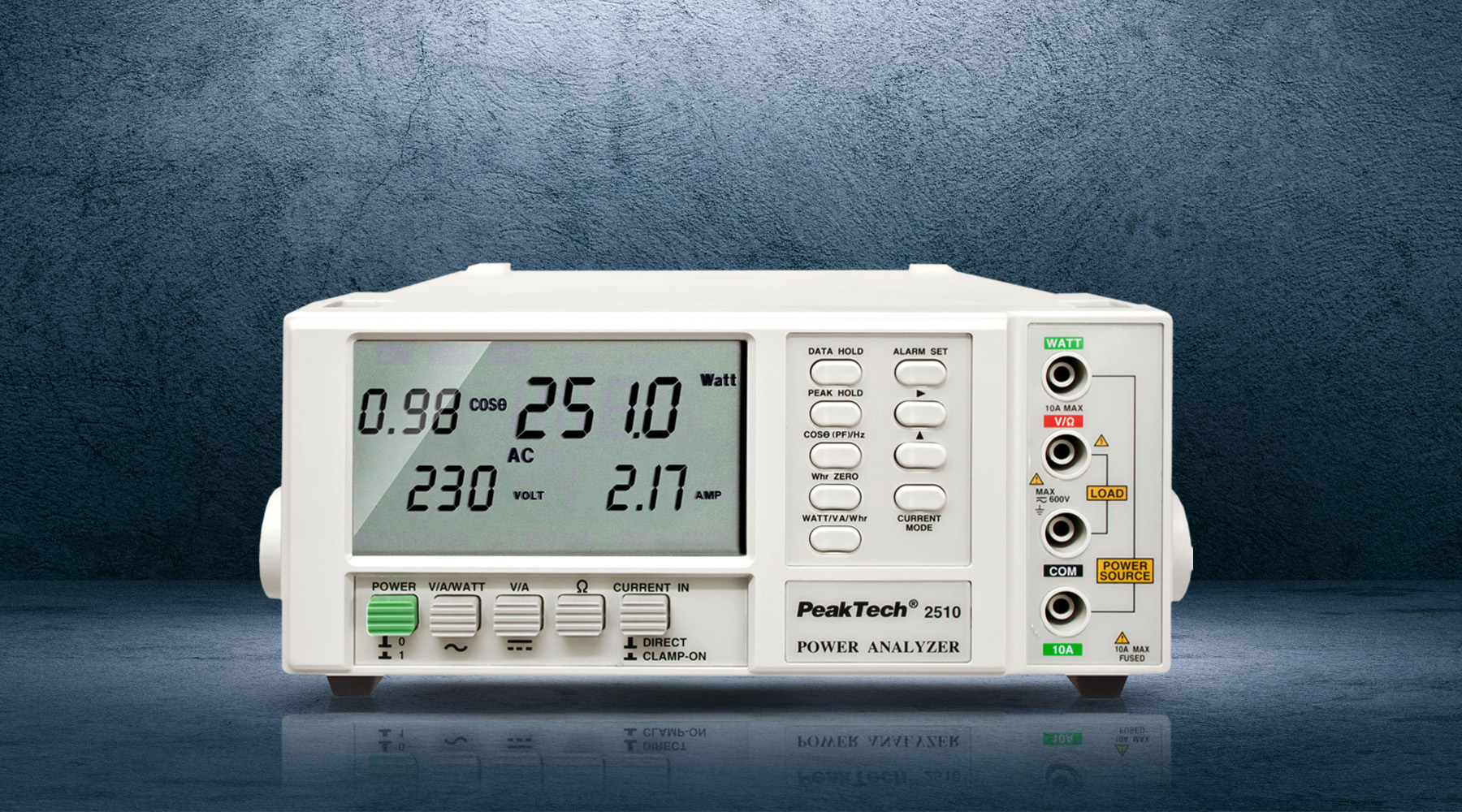 1-phase power analyzers