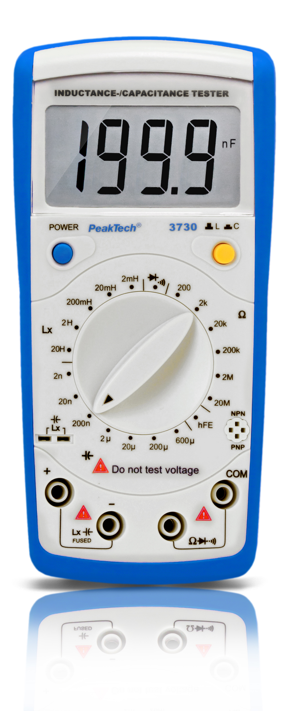 «PeakTech® P 3730» Inductance / capacitance meter