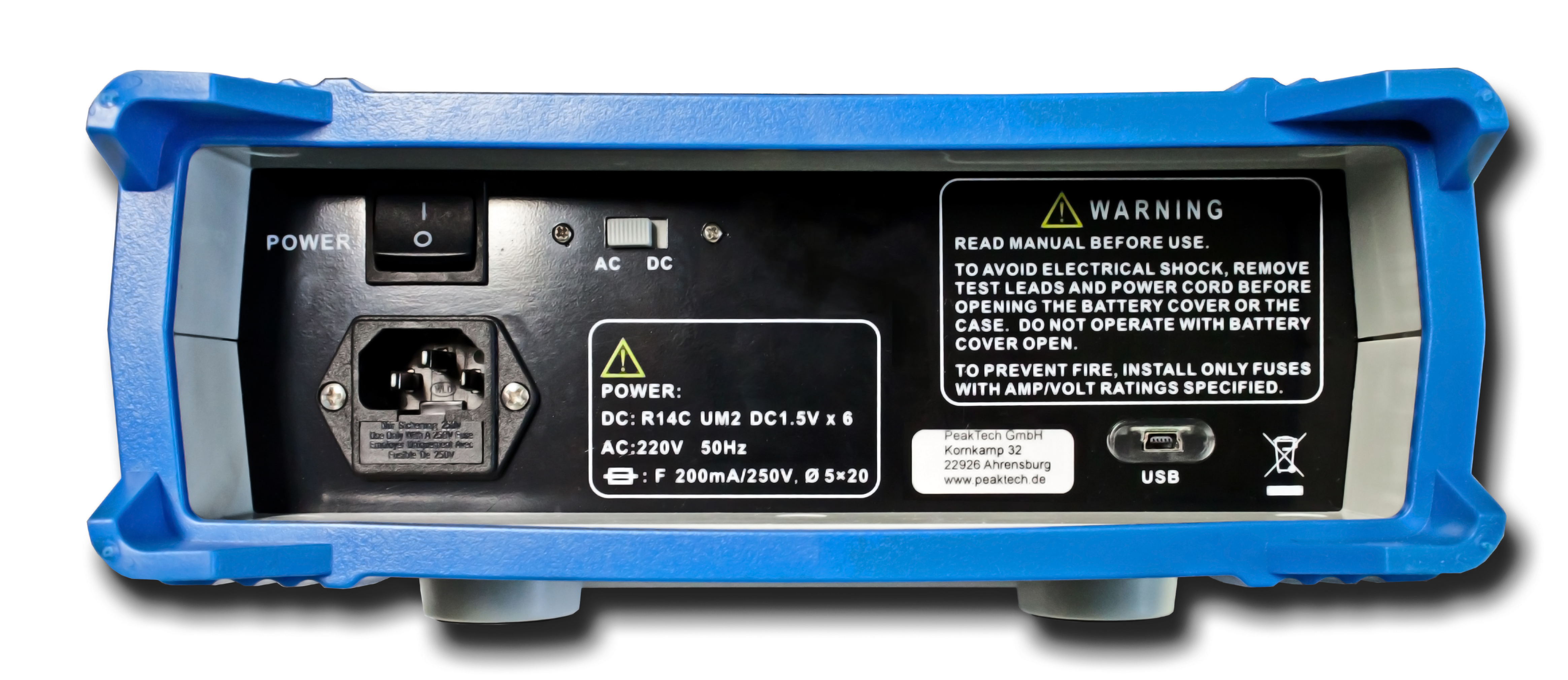 «PeakTech® P 4090» Graphical bench multimeter, 22.000 counts with USB