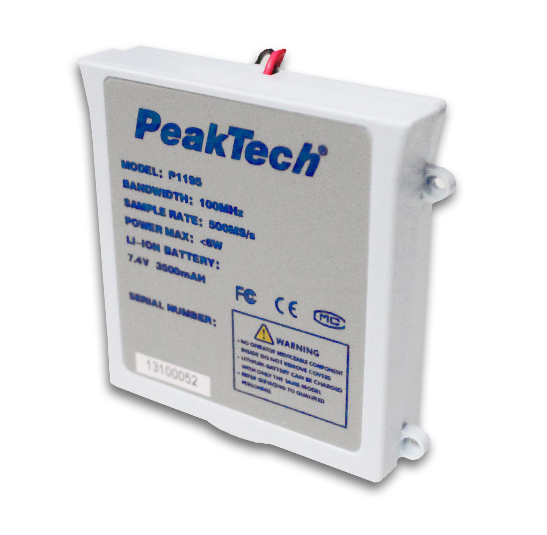 «PeakTech® AKKU 5» Li-Po Akku 7,4 V - 3500 mA/h für PeakTech 1195/1205/1220