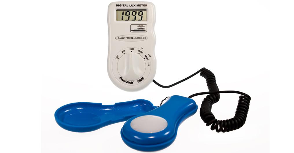 «PeakTech® P 5025» Digital Lux Meter, 3 1/2-digit, 0 ... 50.000 Lux
