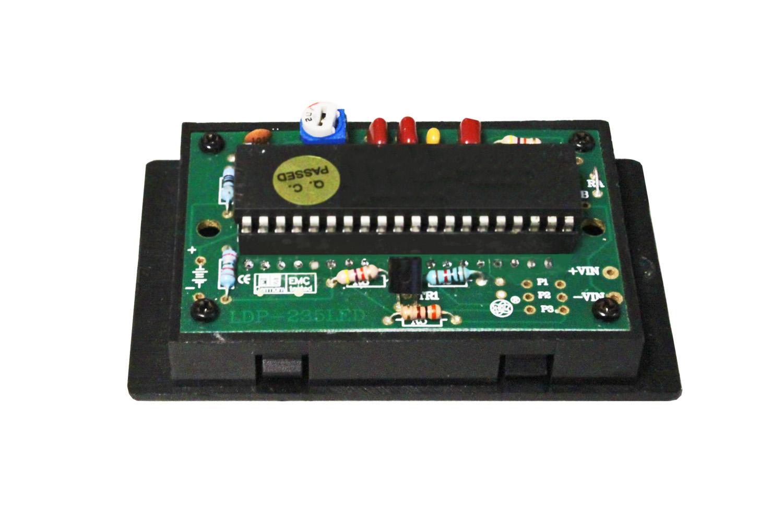 «PeakTech® LDP-235» Volt & ammeter, LCD display 14mm hight of digits