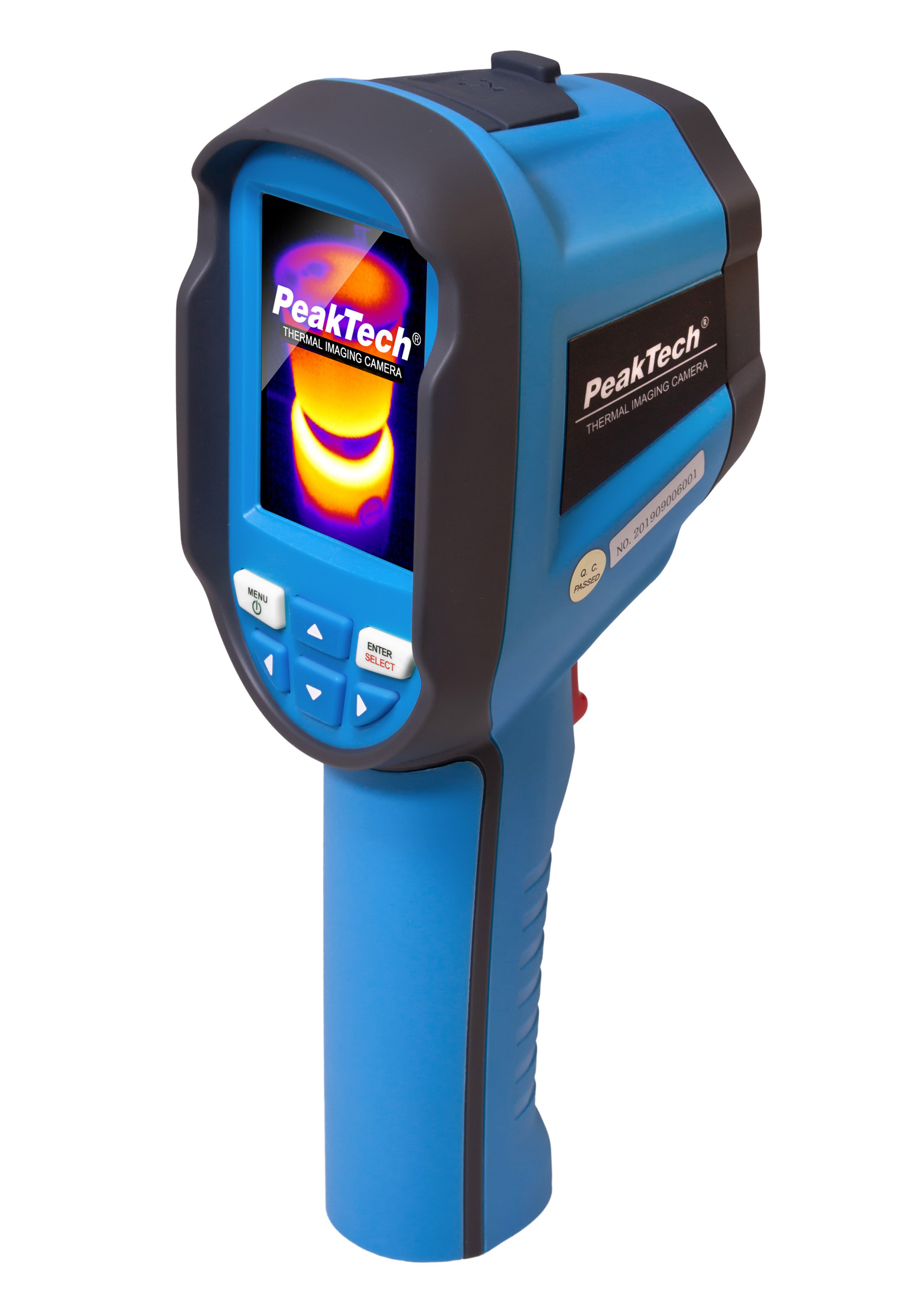«PeakTech® P 5610 A» Thermal Imaging Camera with photo recording, USB