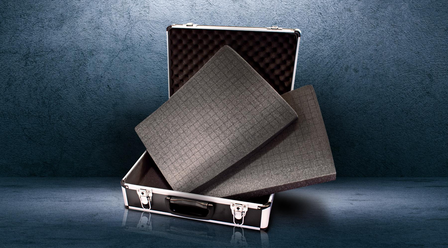 Cube foam inserts