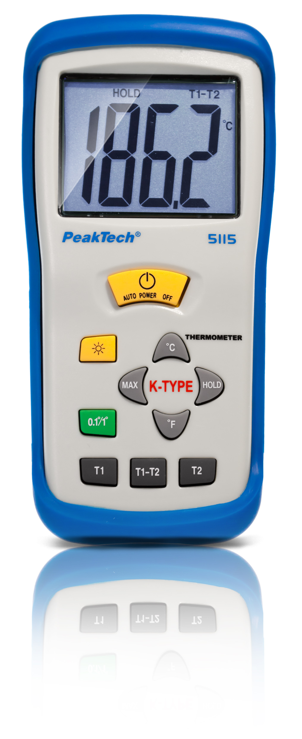 «PeakTech® P 5115» Digital-Thermometer K-Type / -50 ... +1300°C