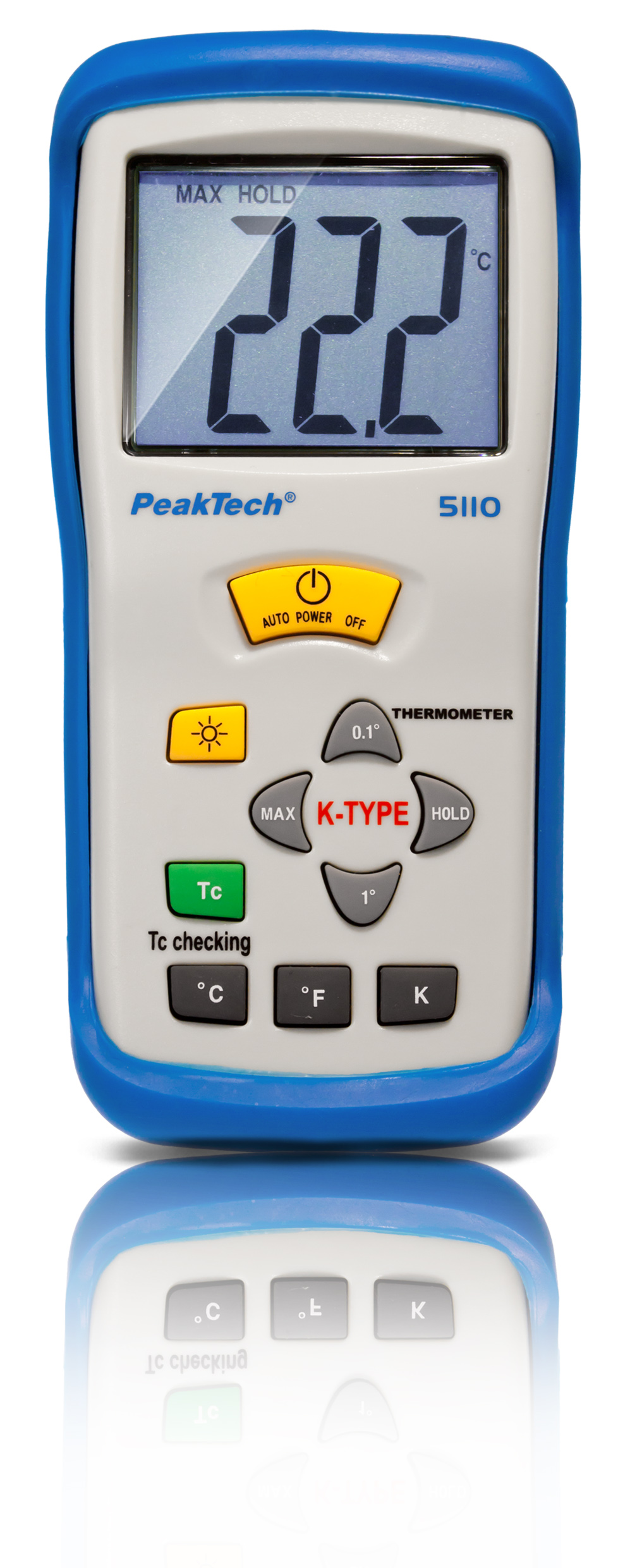 «PeakTech® P 5110» Digital-Thermometer K-Type / -50 ... +1300°C