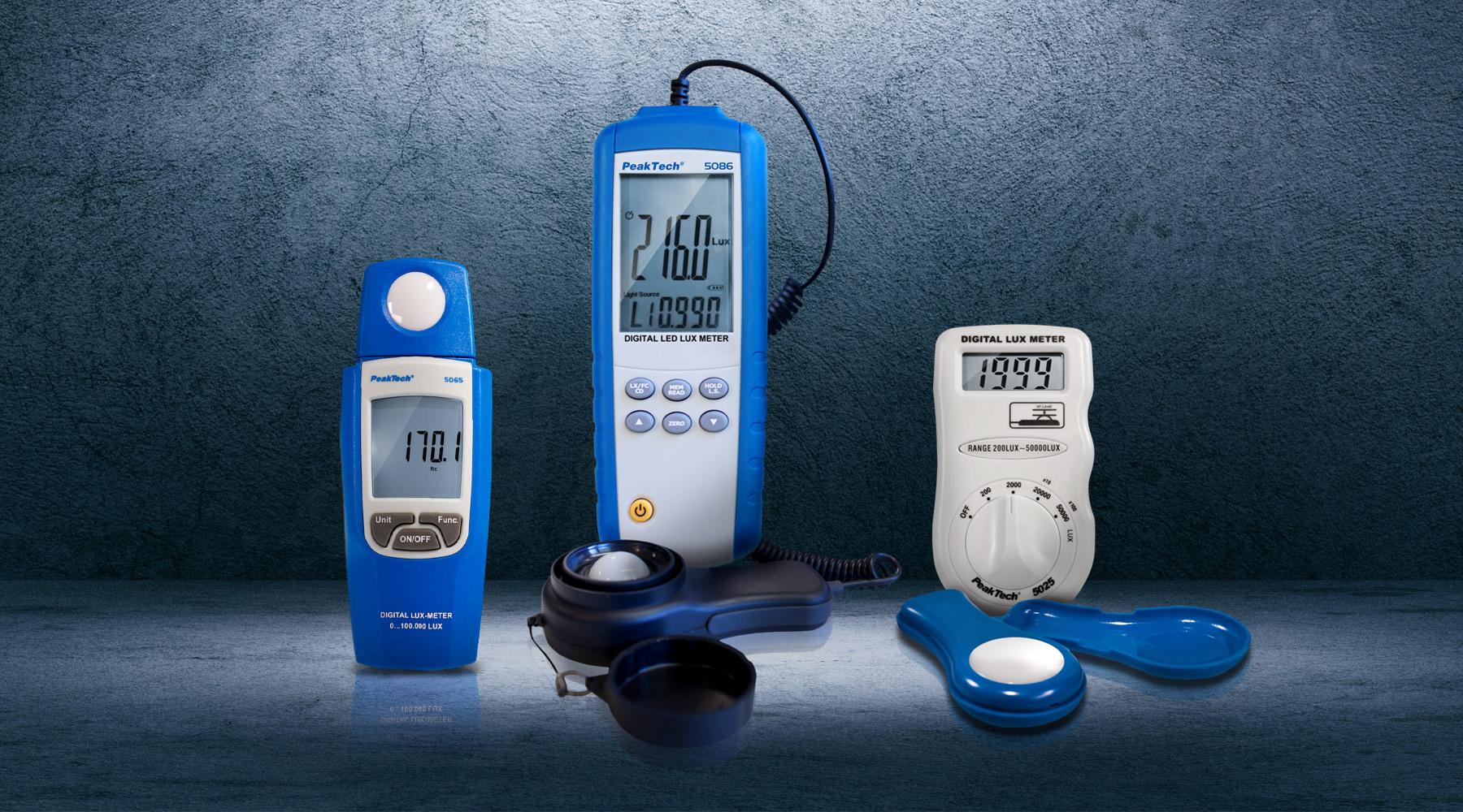 Lux  / illumination meters