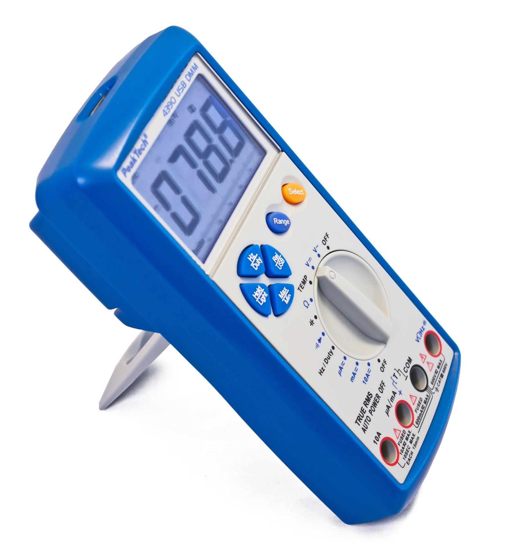 «PeakTech® P 4390» Digital Multimeter, 6.000 Counts, TrueRMS