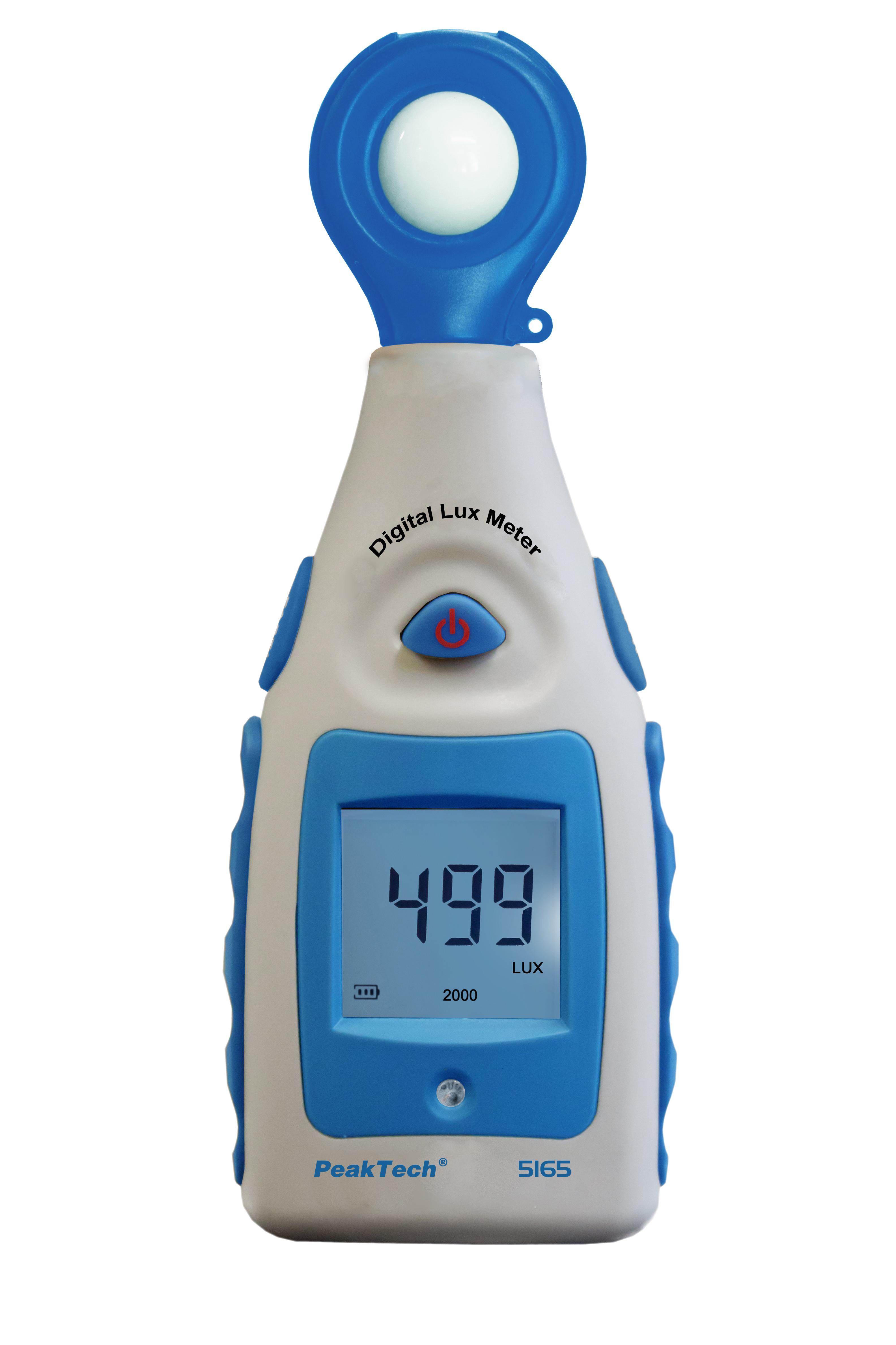 «PeakTech® P 5165» Digital-Lux-Meter 0...200.000 Lux