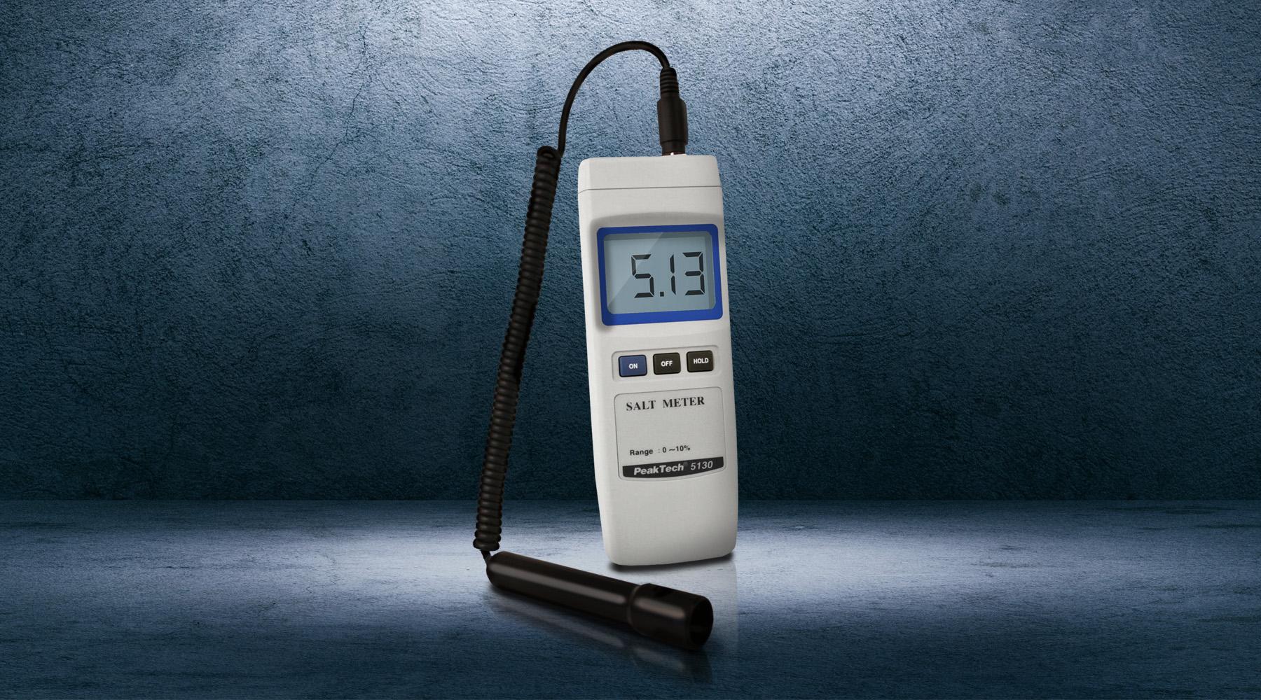 Salt water meters