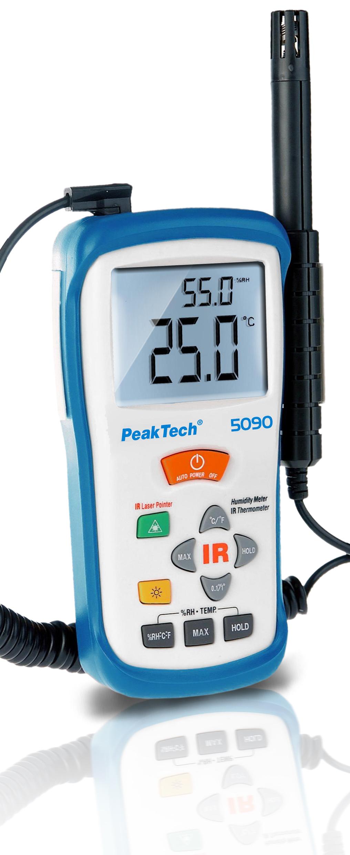 «PeakTech® P 5090» Temperature-/Humidity Meter, -50 ... +500°C