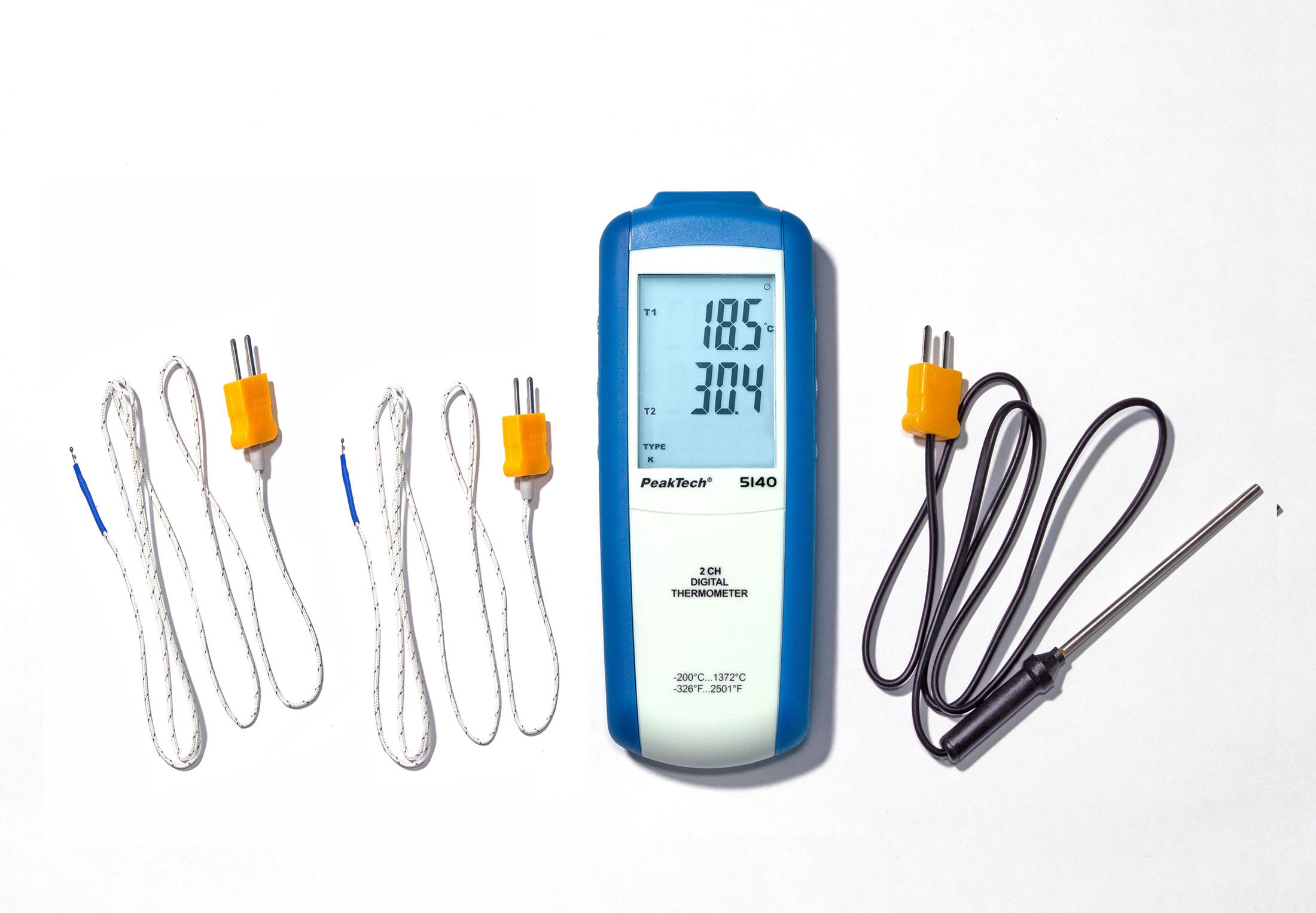«PeakTech® P 8104» Measurement Equipment Set Temperature & Dew Point