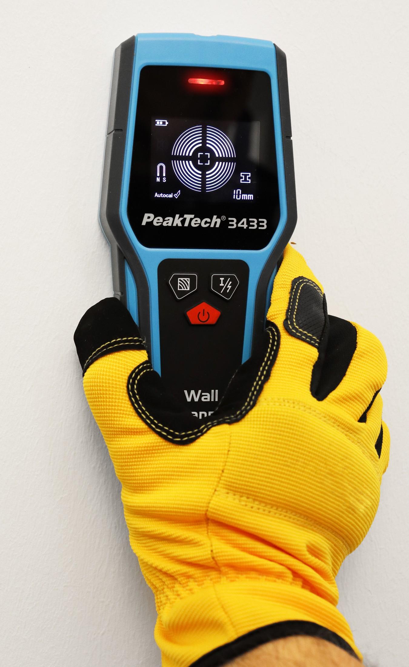 «PeakTech® P 3433» Digital Wall Scanner