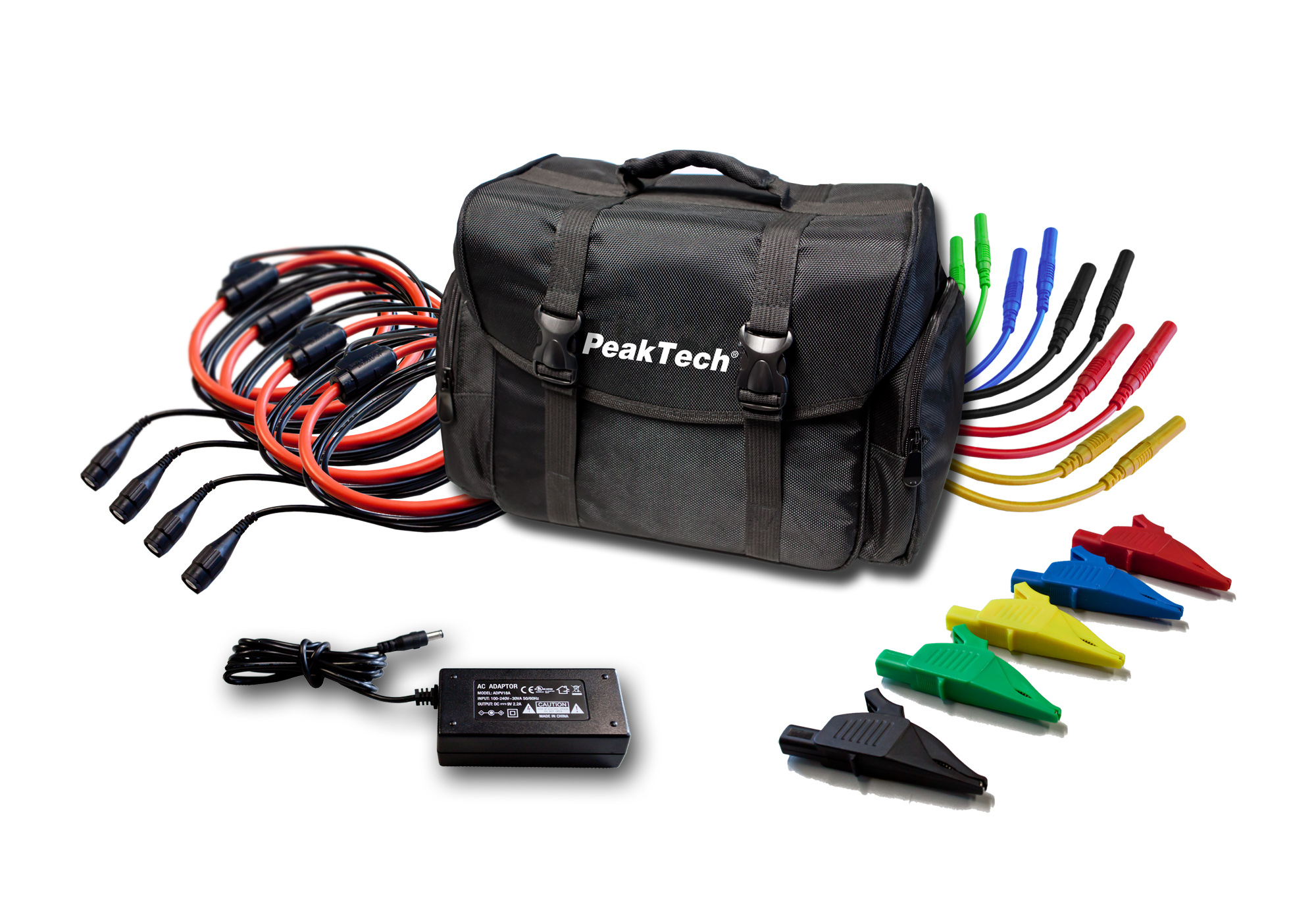 «PeakTech® P 4145» Power analyzer with RS-232 C interface