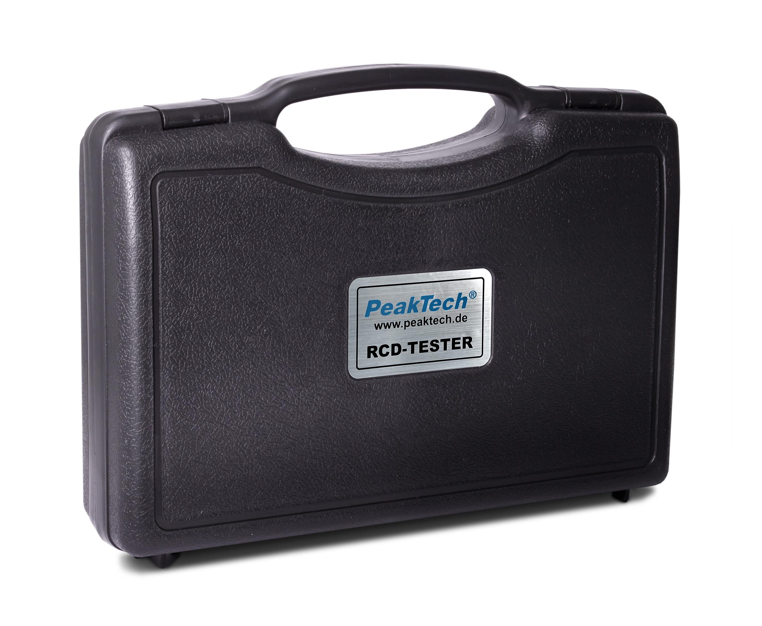 «PeakTech® P 2710» Digital RCD tester