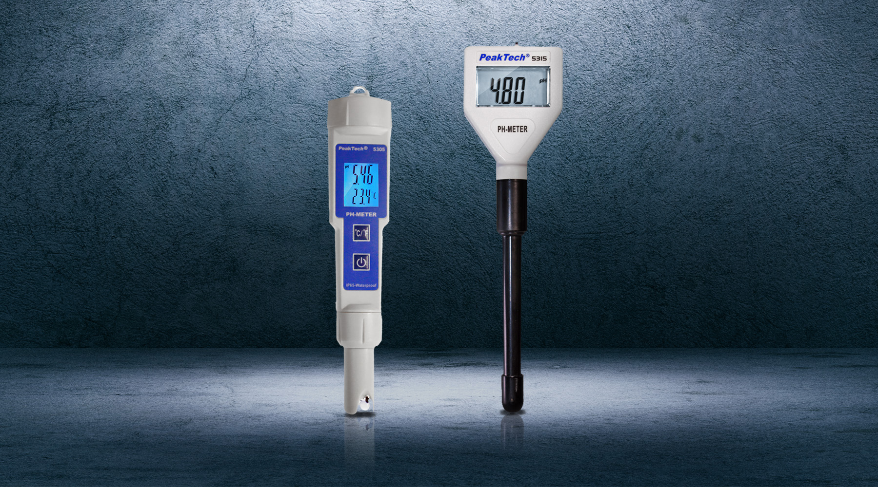 PH and conductivity meters
