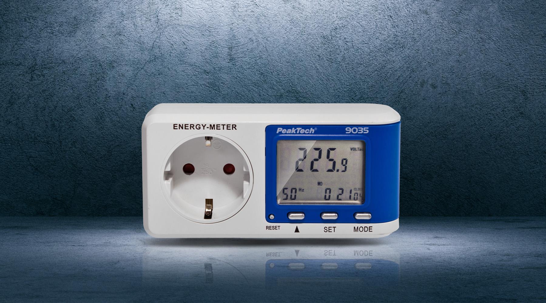 Energy cost meters