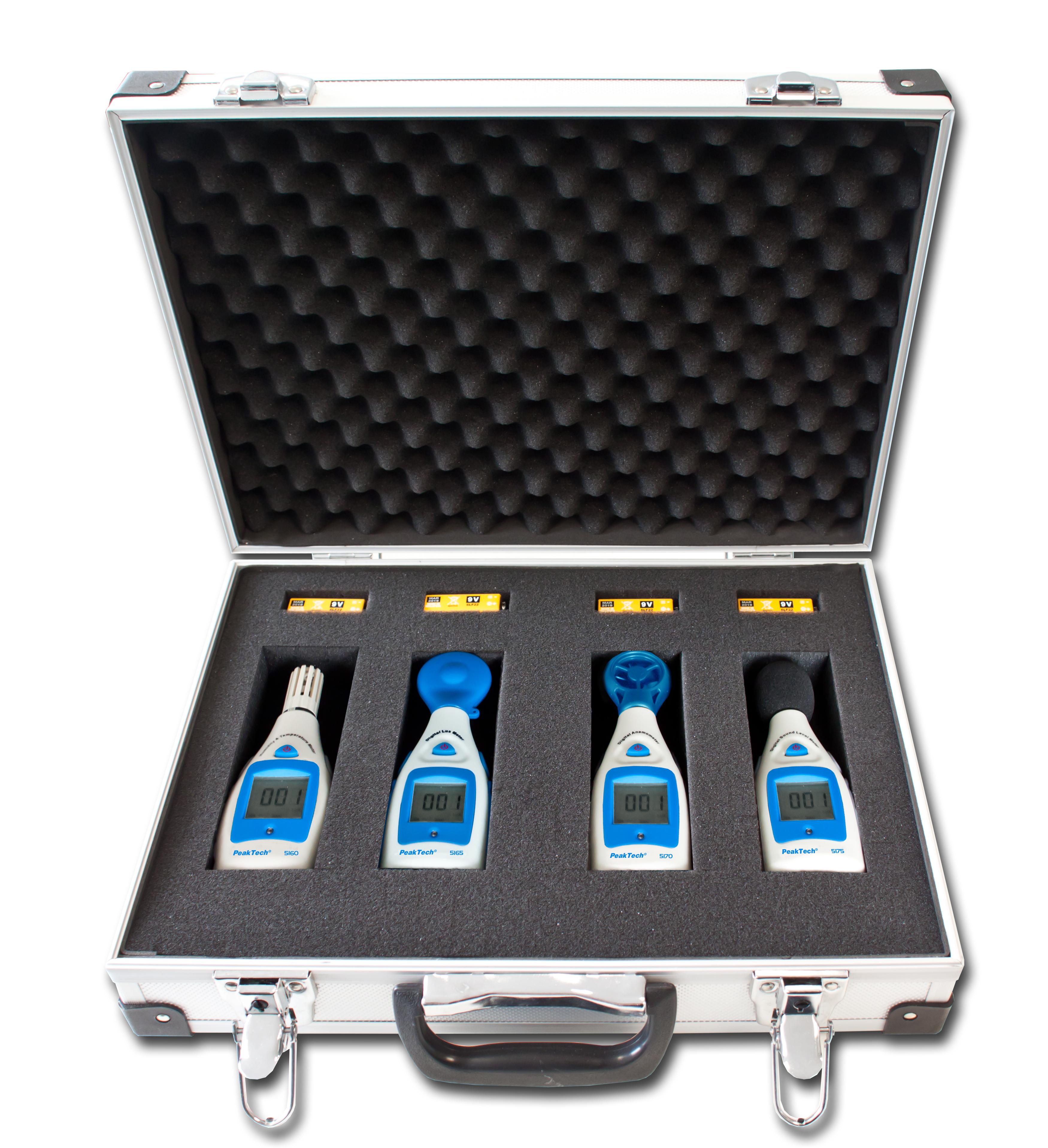 "«PeakTech® P 8103» Measurement Equipment Set ""Environment"""