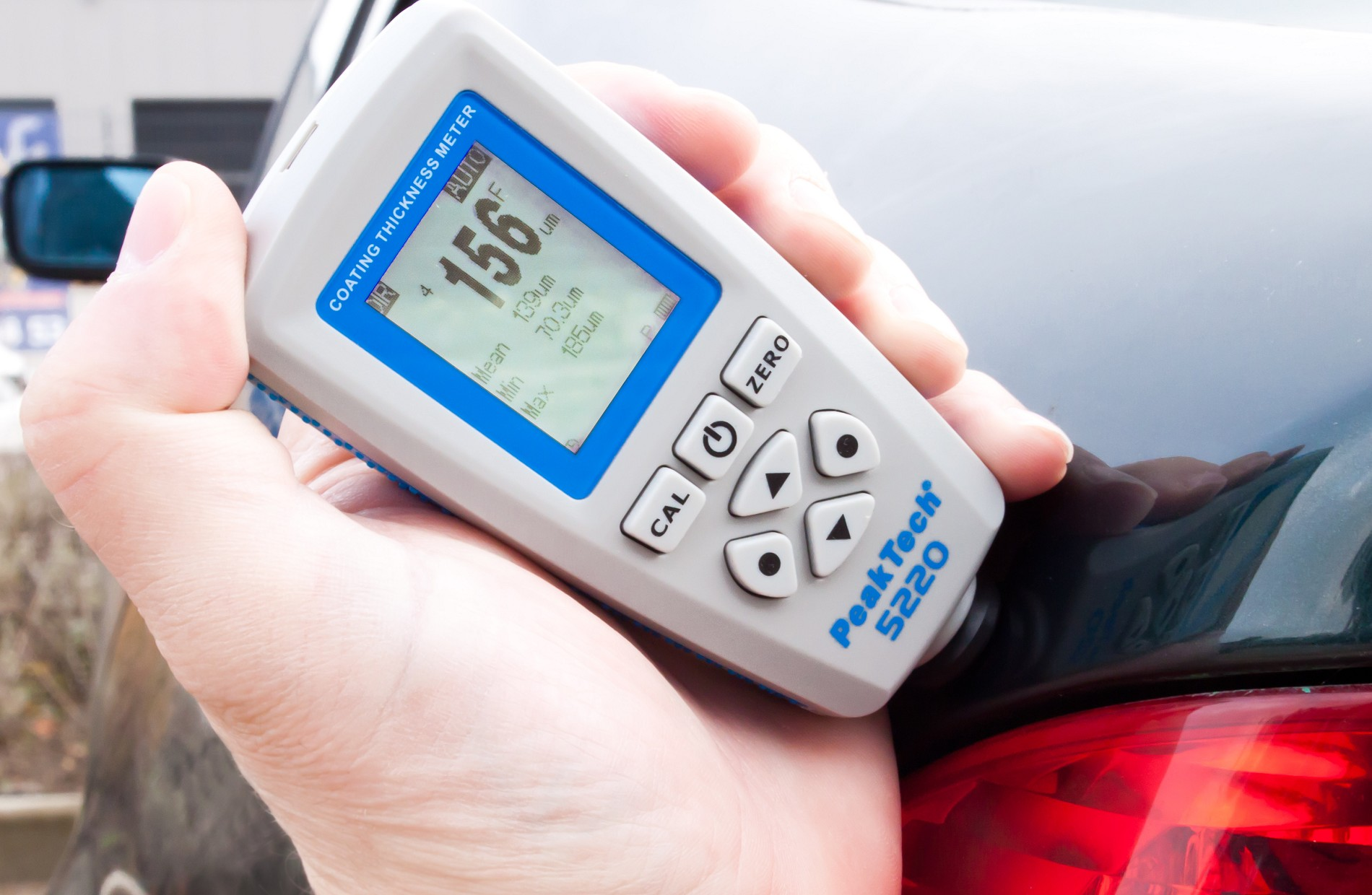 «PeakTech® P 5220» Coating and Material Thickness Meter