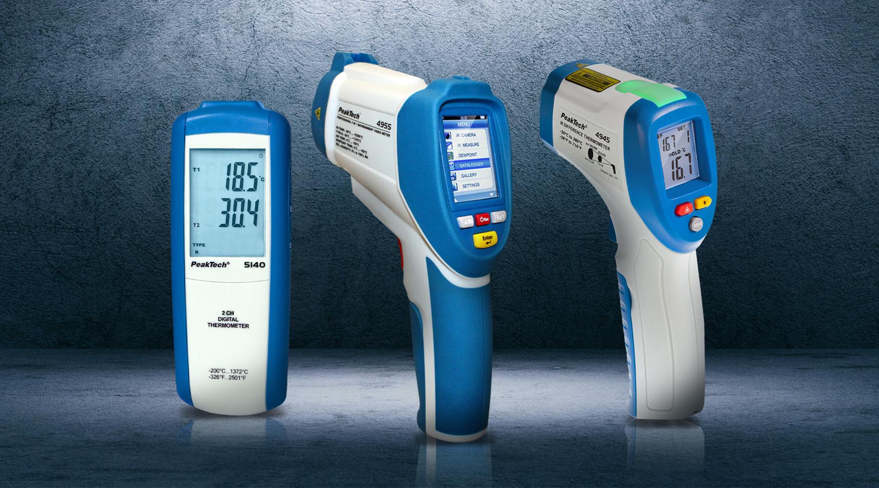 Thermometers (IR / Type-k)