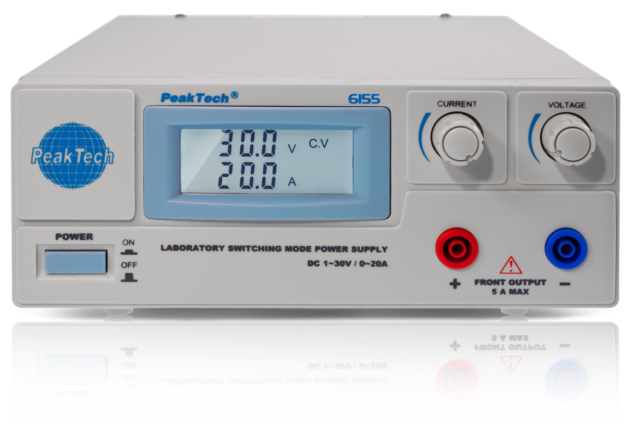 «PeakTech® P 6155» Laboratory Switching Mode Power Supply
