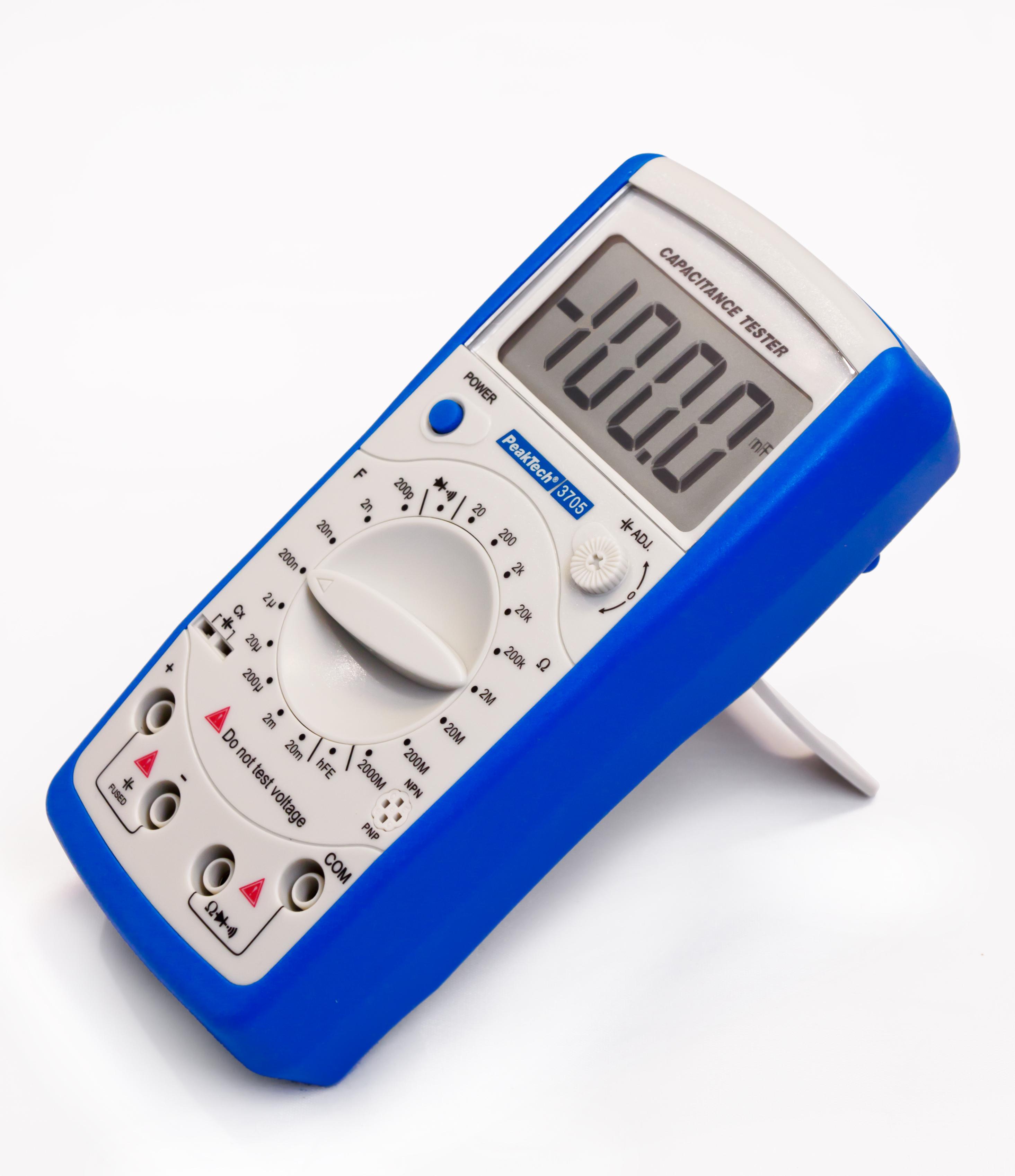 «PeakTech® P 3705» Digital capacitance meter