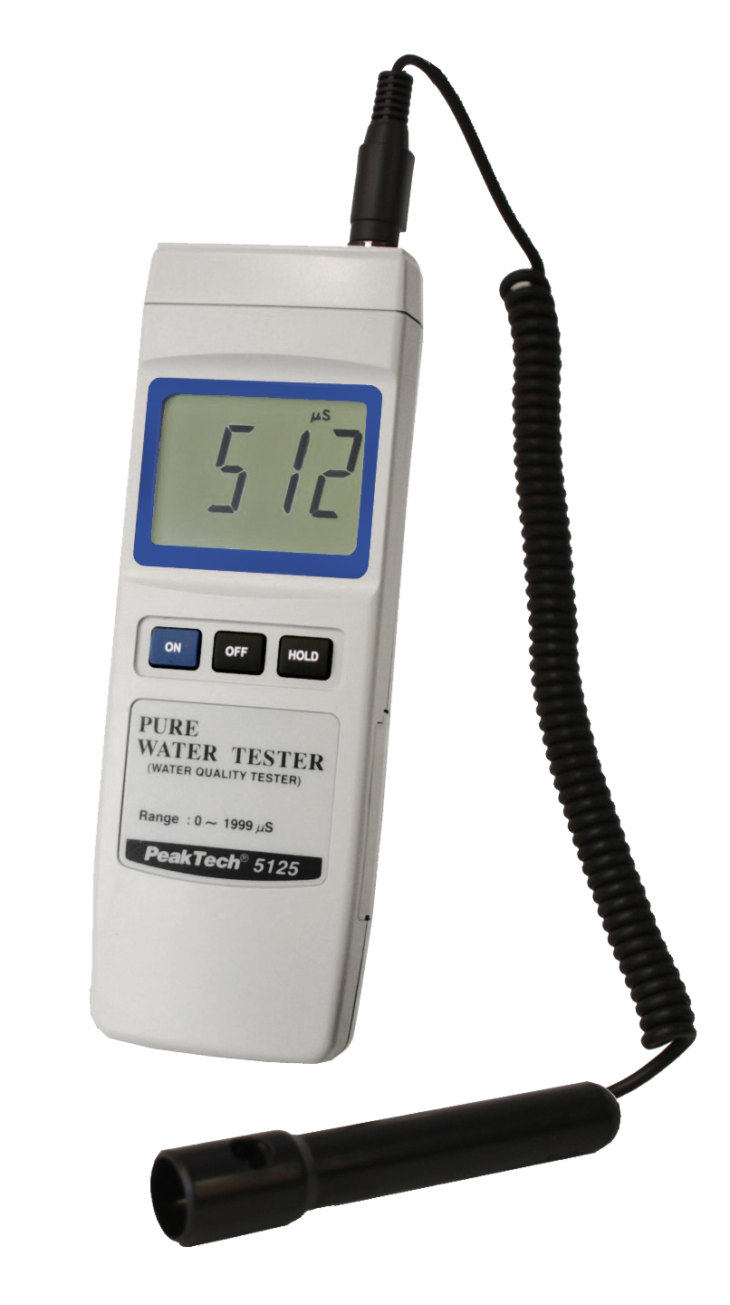 «PeakTech® P 5125» Conductivity Tester / Water Tester