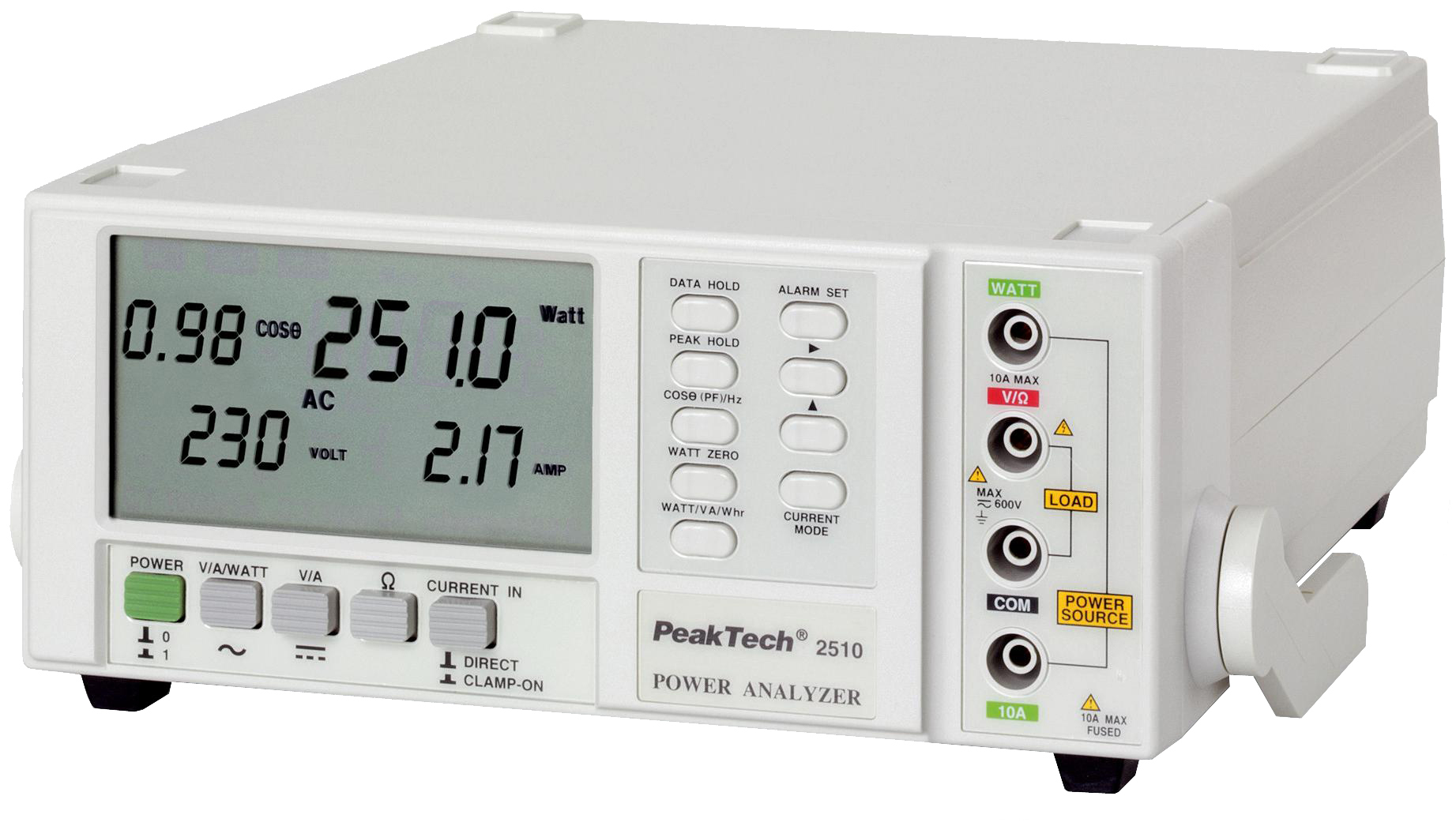 «PeakTech® P 2510» Energy Meter with 0,1 W resolution