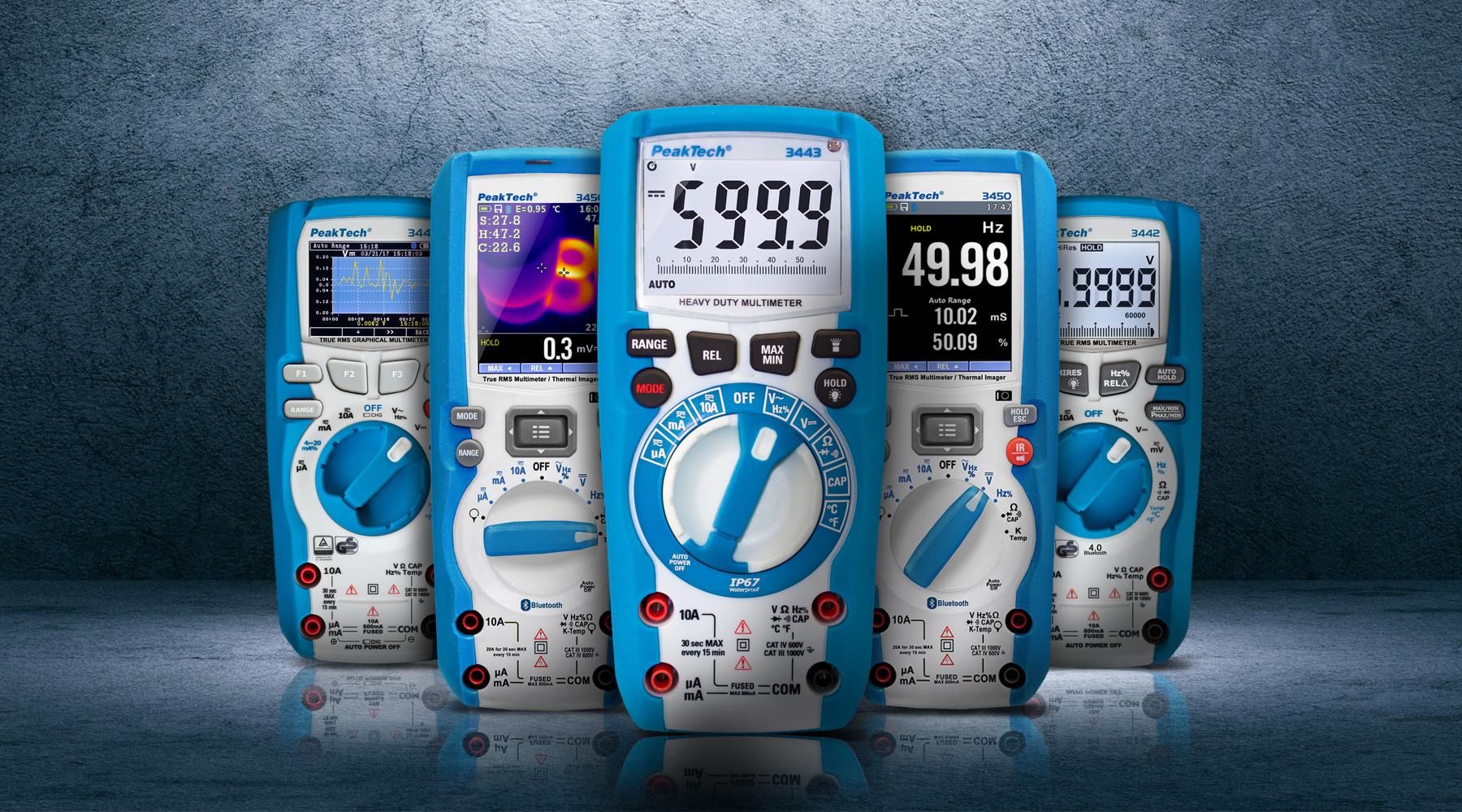 Voltmeter according to DIN EN 61010-1 (VDE 0411-1)