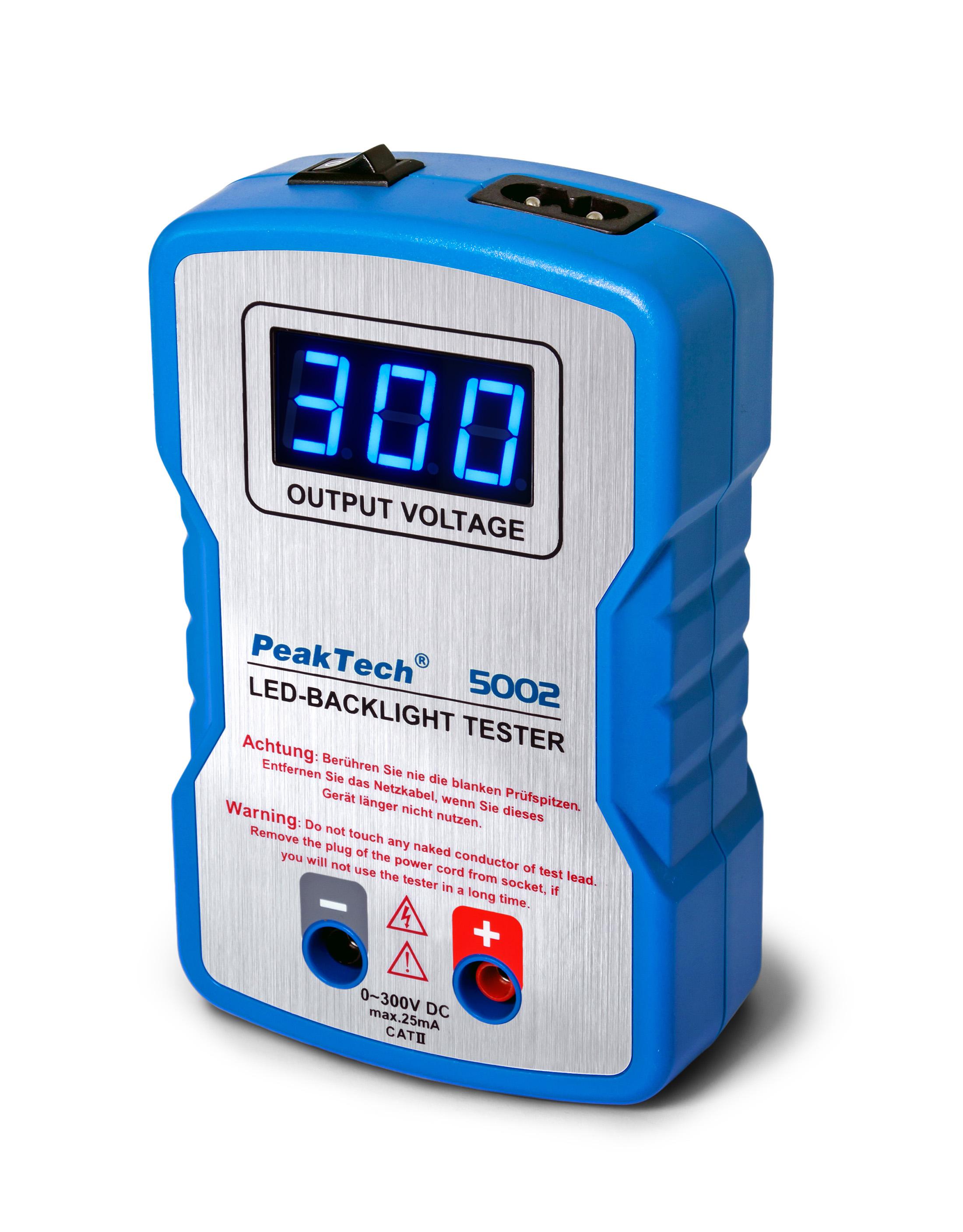 «PeakTech® P 5002» LED-Tester 0 … 300V DC